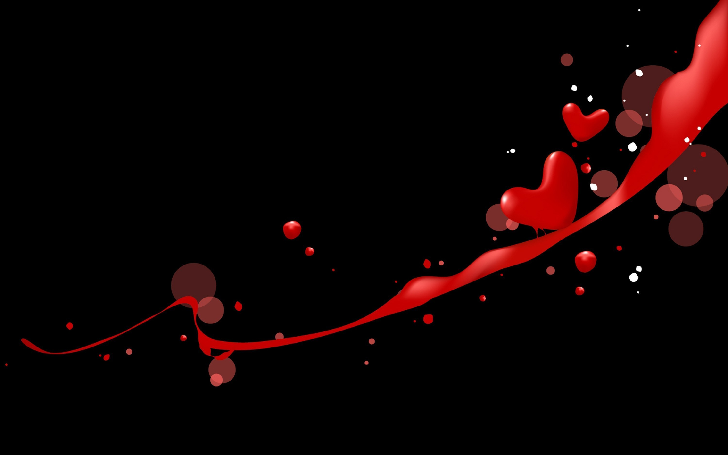 Black And Red Heart Wallpaper (61+ Images