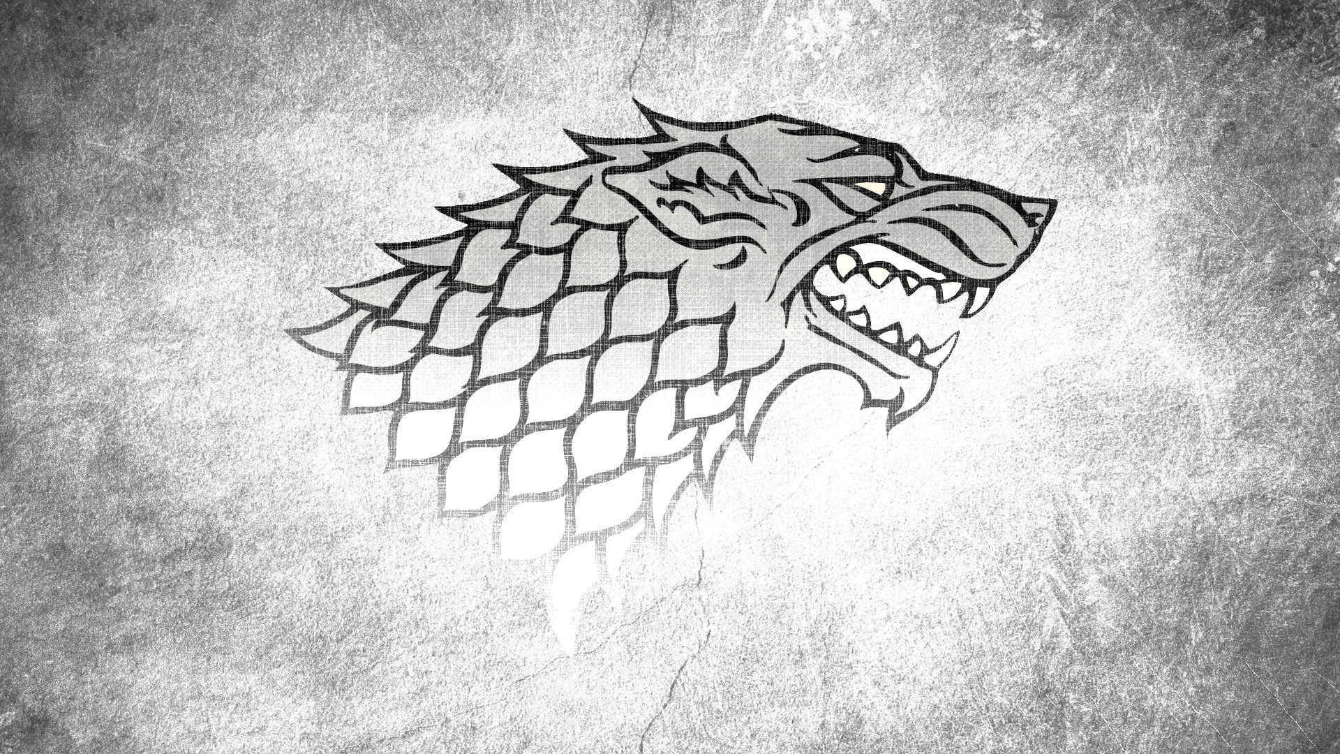 1920x1080 A Song Of Ice And Fire Direwolf Game Thrones House Stark Monochrome TV  Series Wolves
