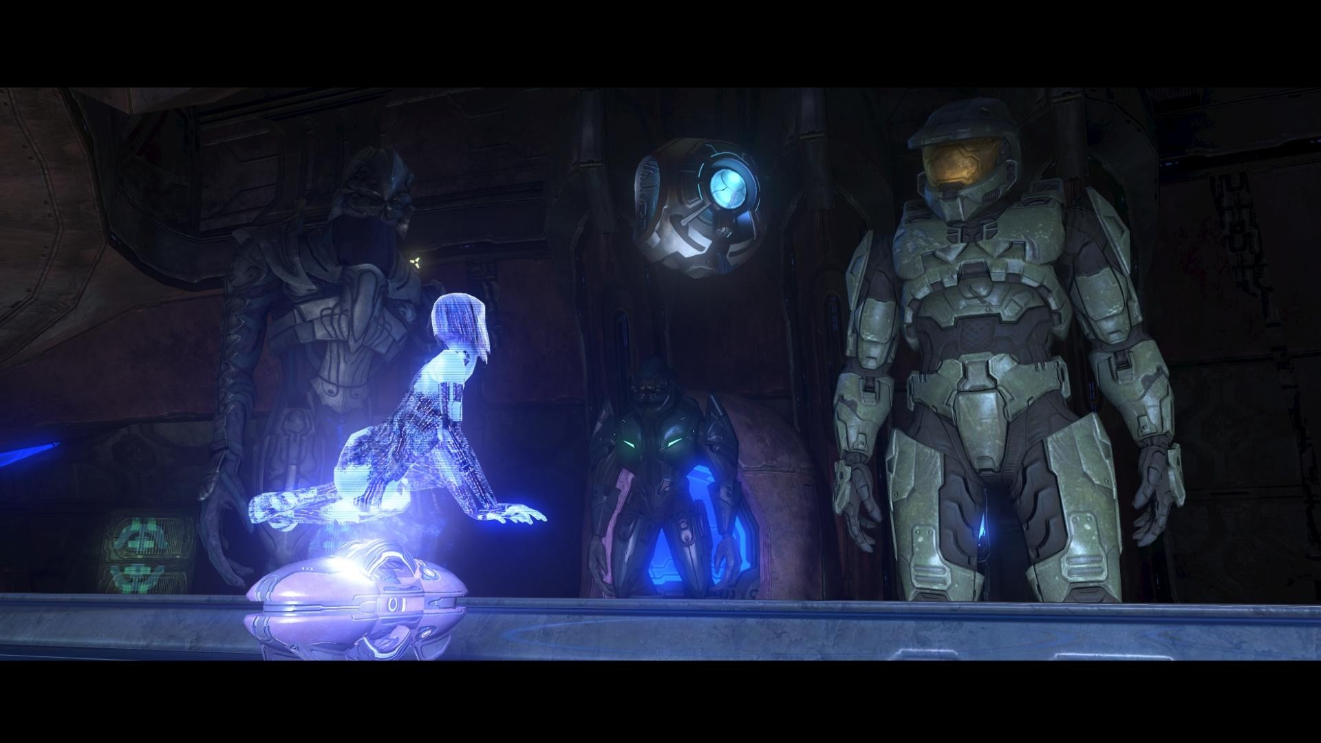 1920x1080 Video Game - Halo 3 Cortana Master Chief Wallpaper