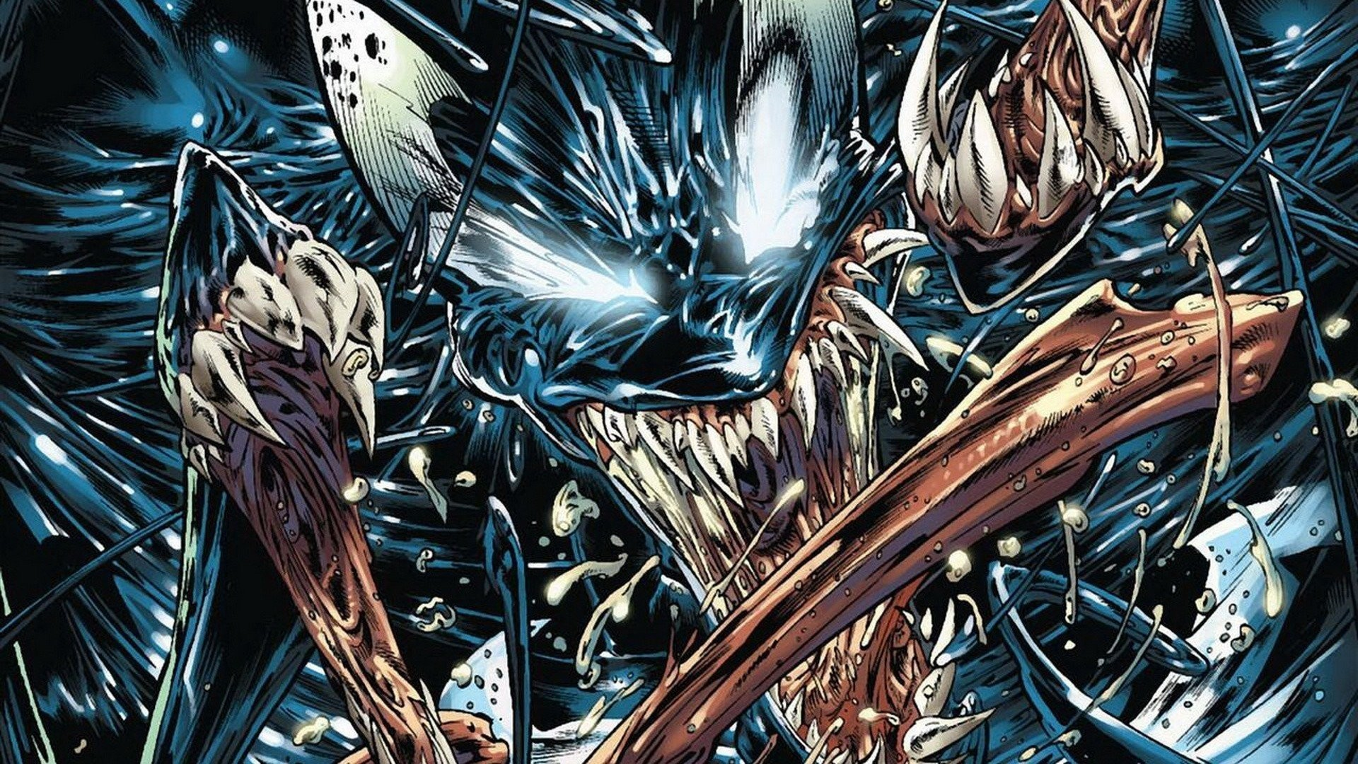 1920x1080 Digital Art Artwork Fantasy Comics Venom Marvel Villain