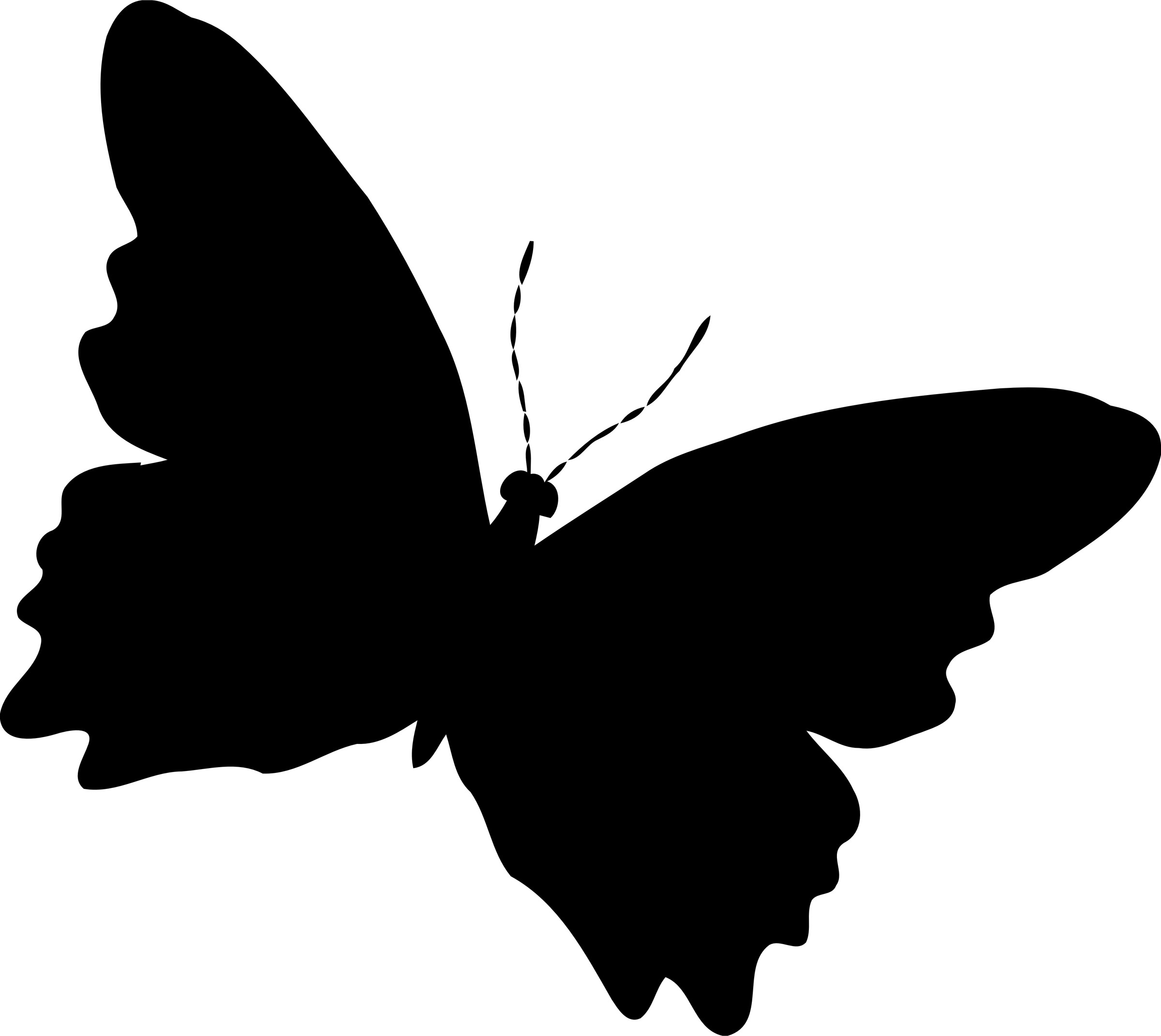 Black Butterfly Background (59+ Images