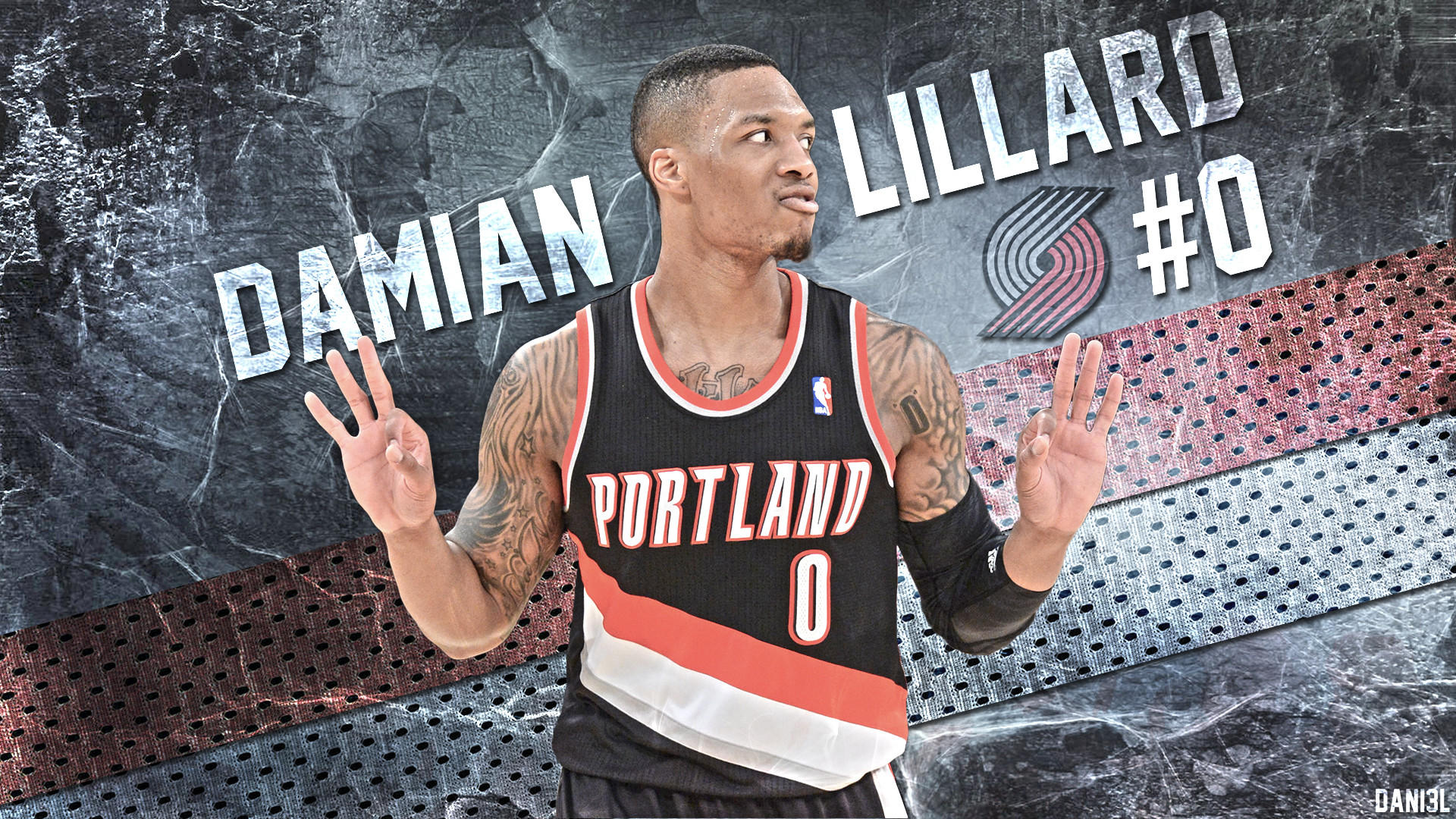 1920x1080 NBA, Portland, Trail Blazers, Portland Trail Blazers, Damian Lillard,  Basketball Wallpapers HD / Desktop and Mobile Backgrounds