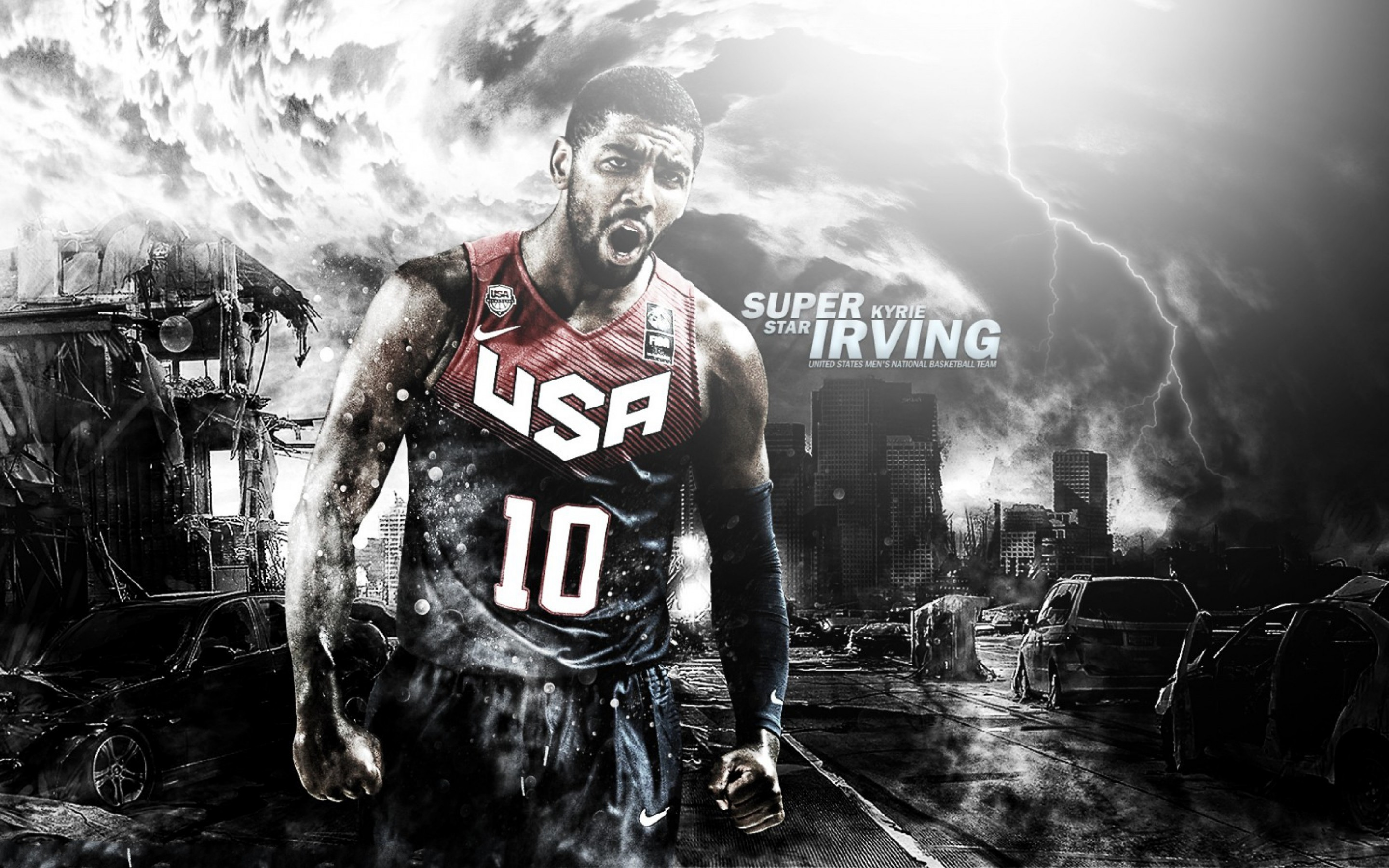 2880x1800 HD Kyrie Irving Android Wallpaper.