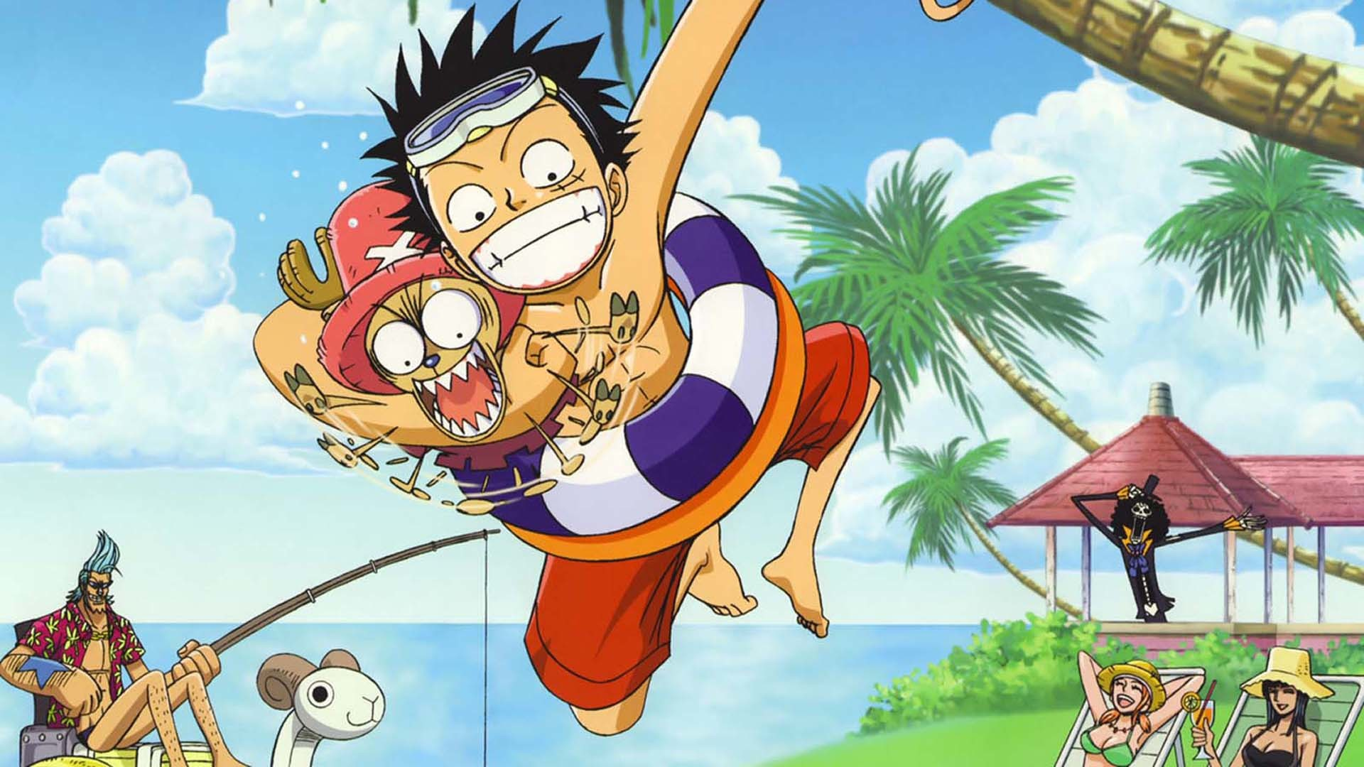 1920x1080 One Piece Chibi Wallpaper Hd New World