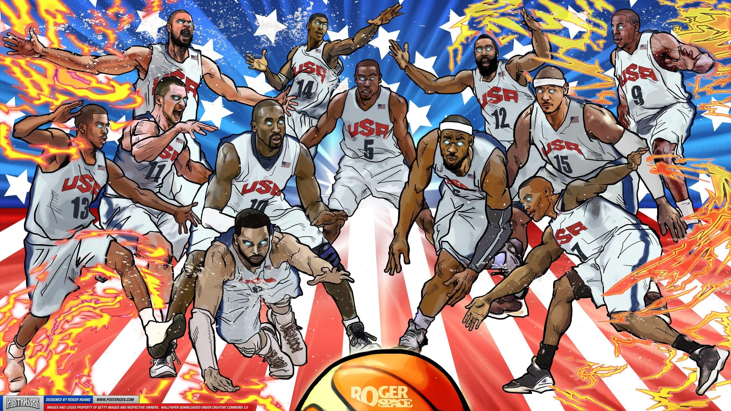 2560x1440 Nba Basketball Wallpapers 2015 - Wallpaper Cave