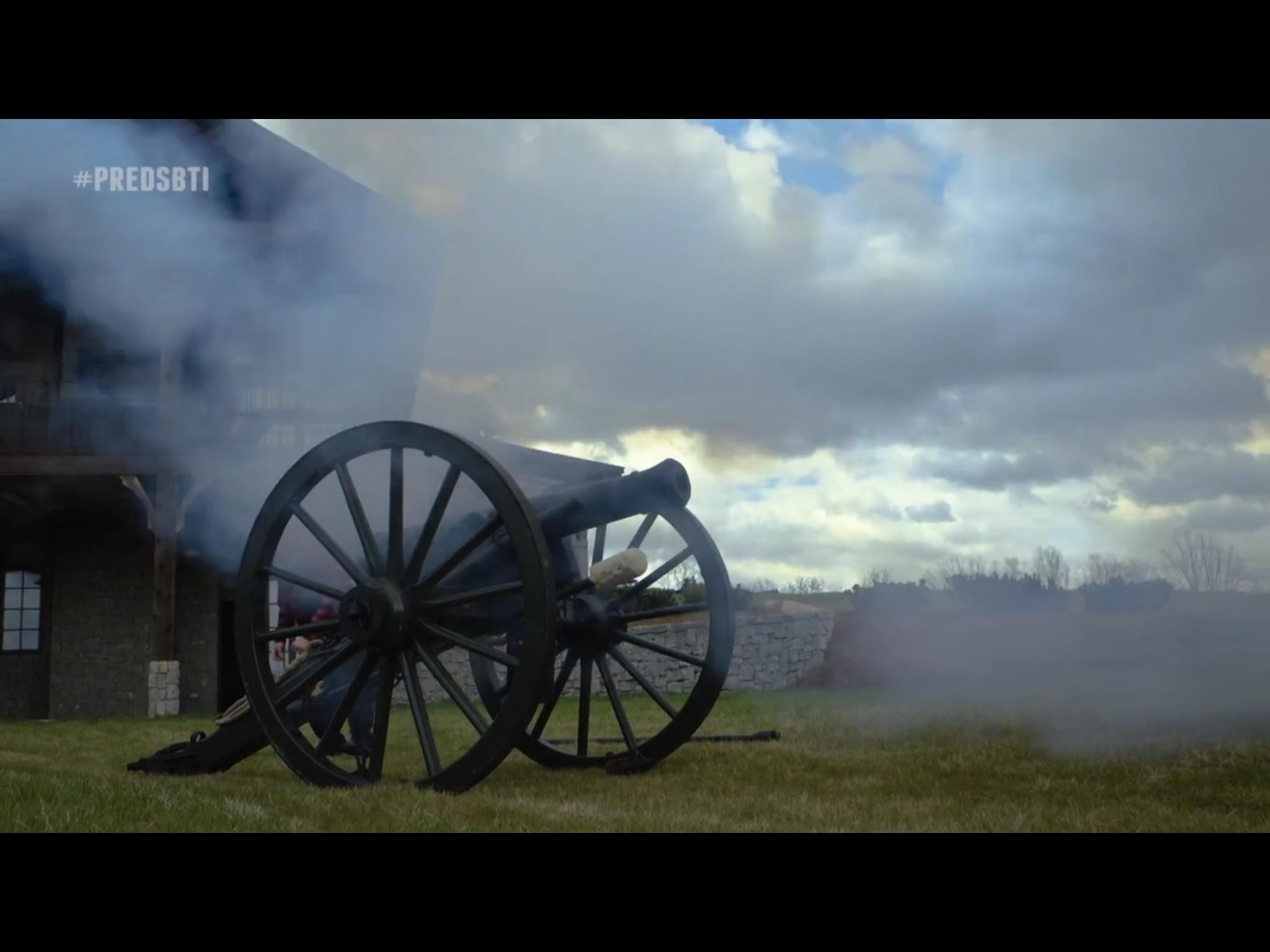 2048x1536 Mike Fisher of the Nashville Predators owns a cannon and fires it on his  farm.
