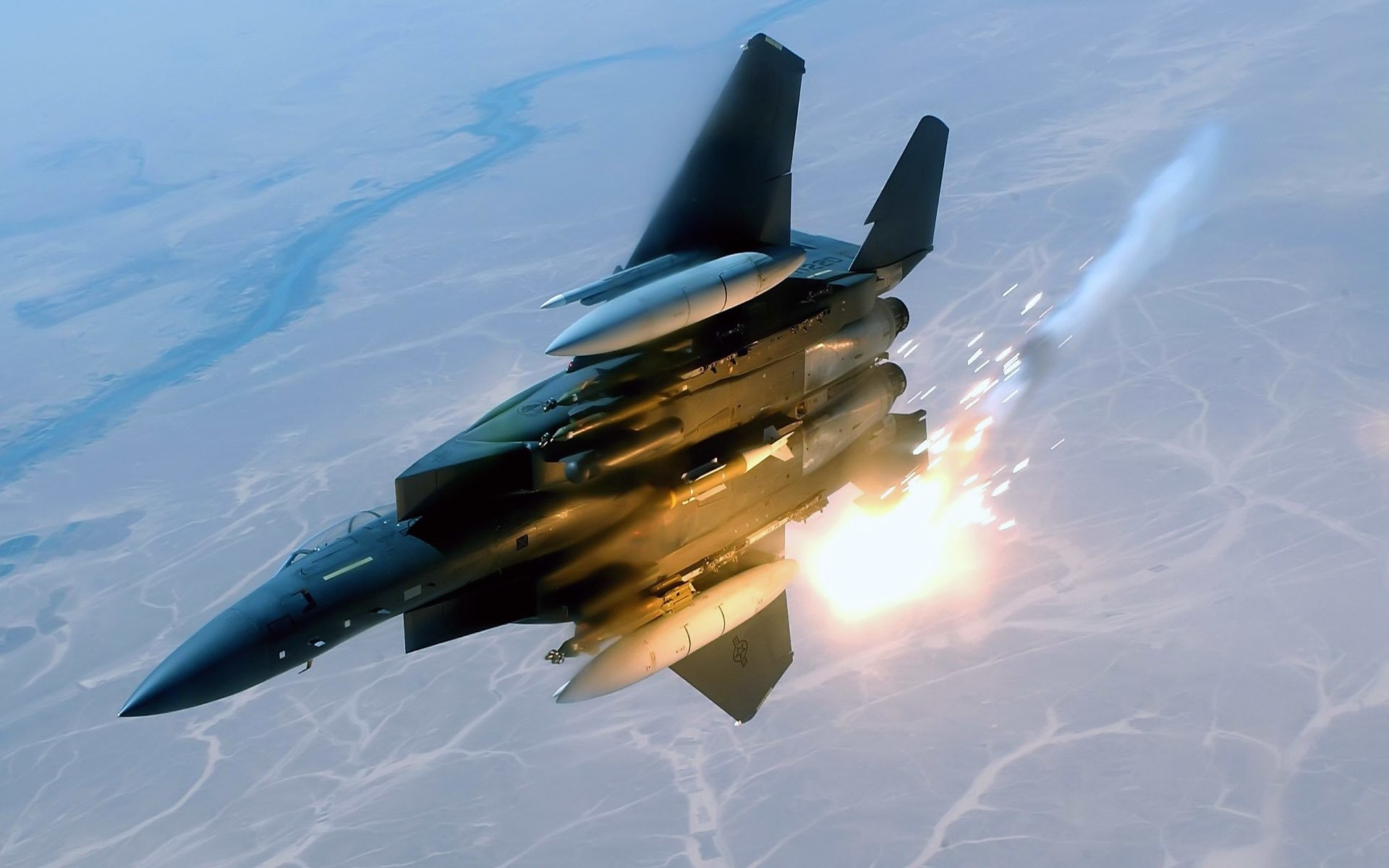 1920x1200 F-15 Strike Eagle Wallpapers by Tia Khan #7