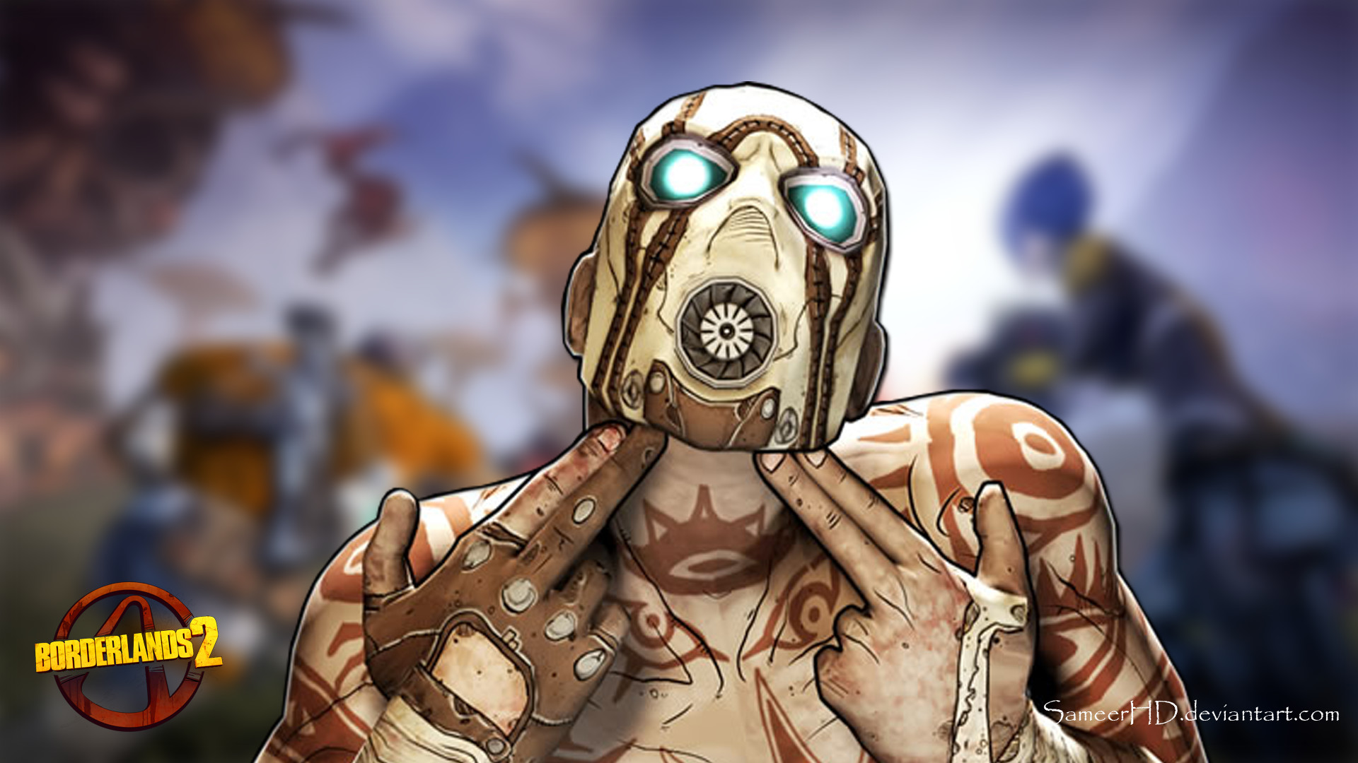 Borderlands 2 Psycho Wallpaper (77+ Images