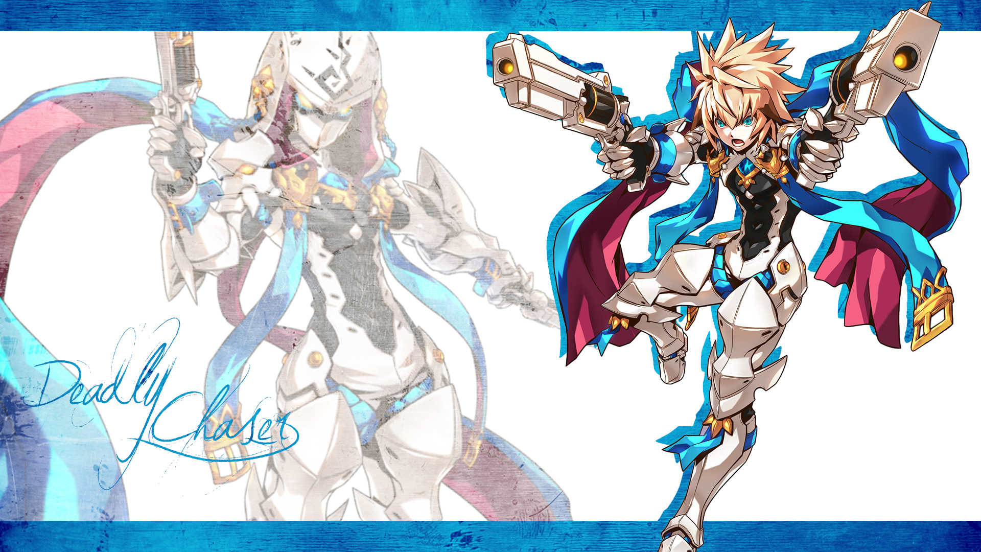 1920x1080 Elsword Chung Deadly Chaser Wallpaper  by DarkiGFX