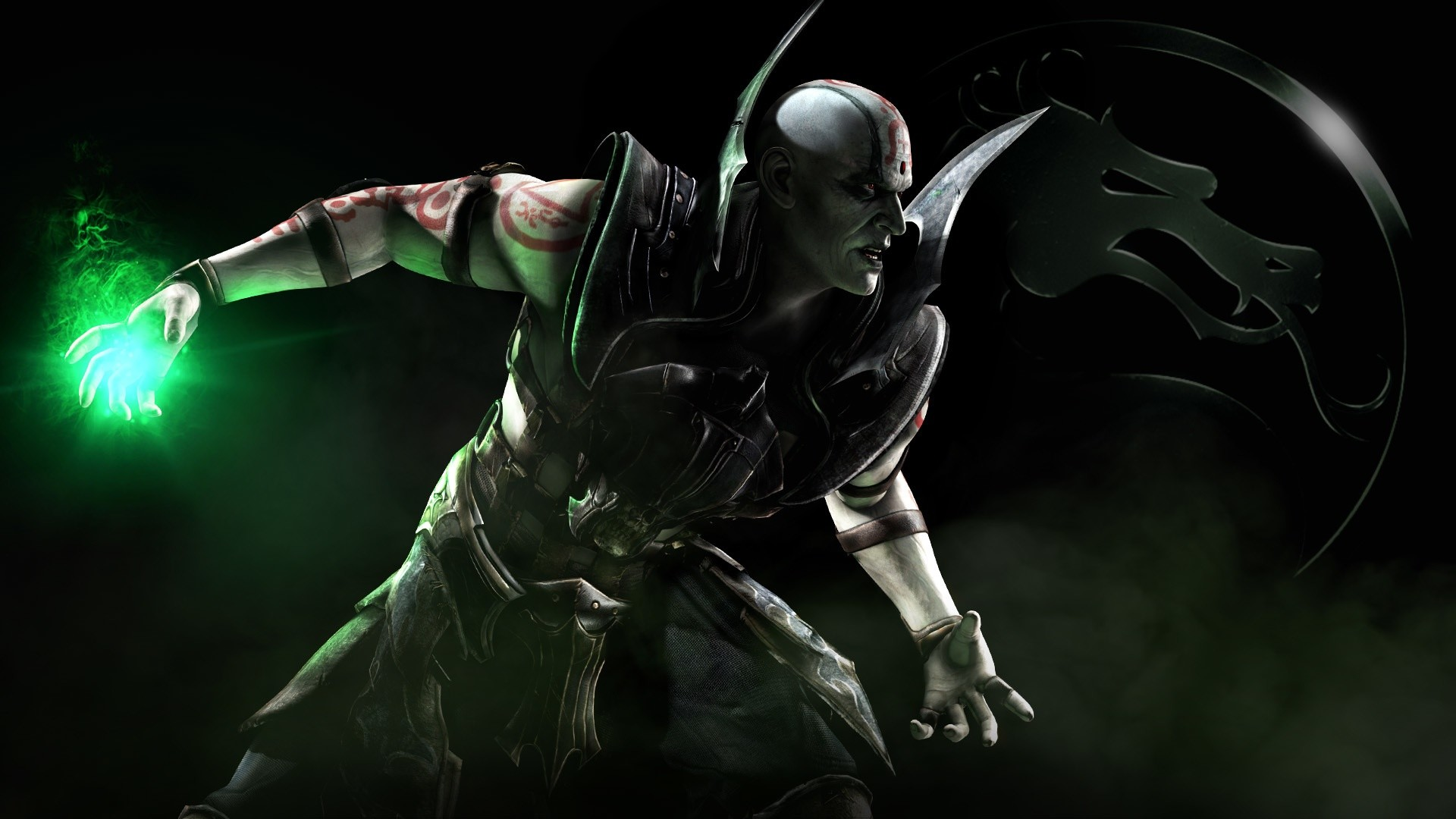 1920x1200 Mortal Kombat Scorpion Drawing HD Desktop Wallpaper High 2560A 1440 49