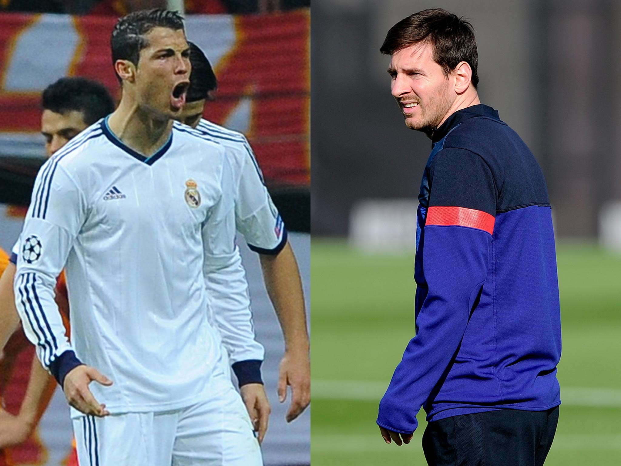 2048x1536 Lionel Messi v Cristiano Ronaldo - world's greatest players locked in new  battle | The Independent