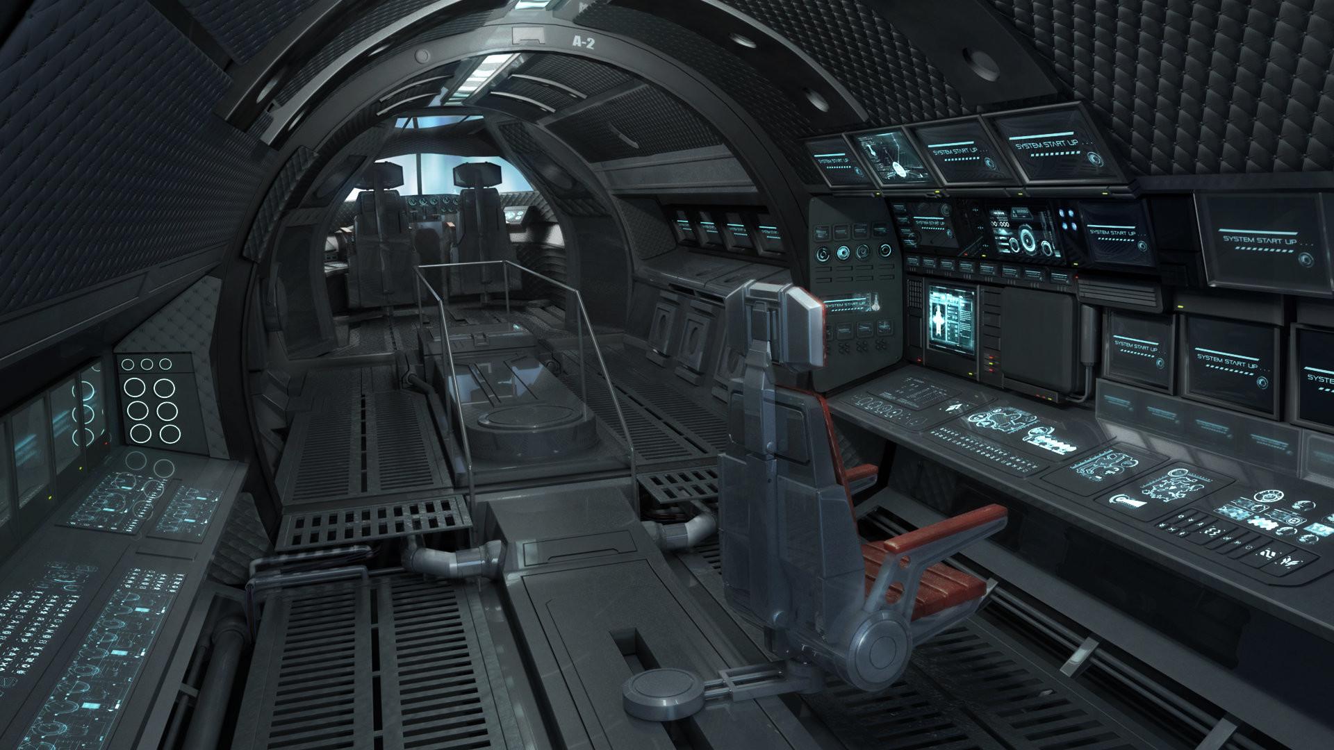 Spaceship Cockpit Wallpaper (70+ images)