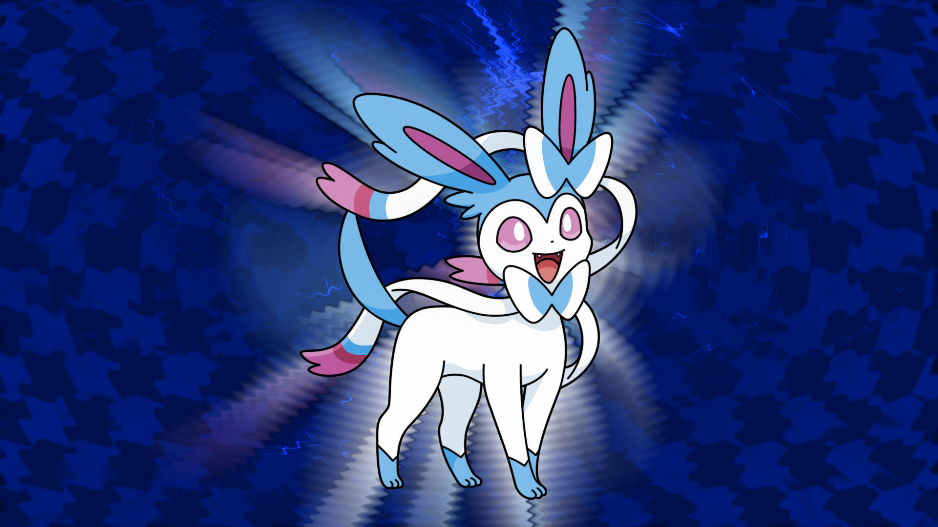 1920x1080 Shiny Sylveon Psychic Wallpaper by SlySylveon Shiny Sylveon Psychic  Wallpaper by SlySylveon