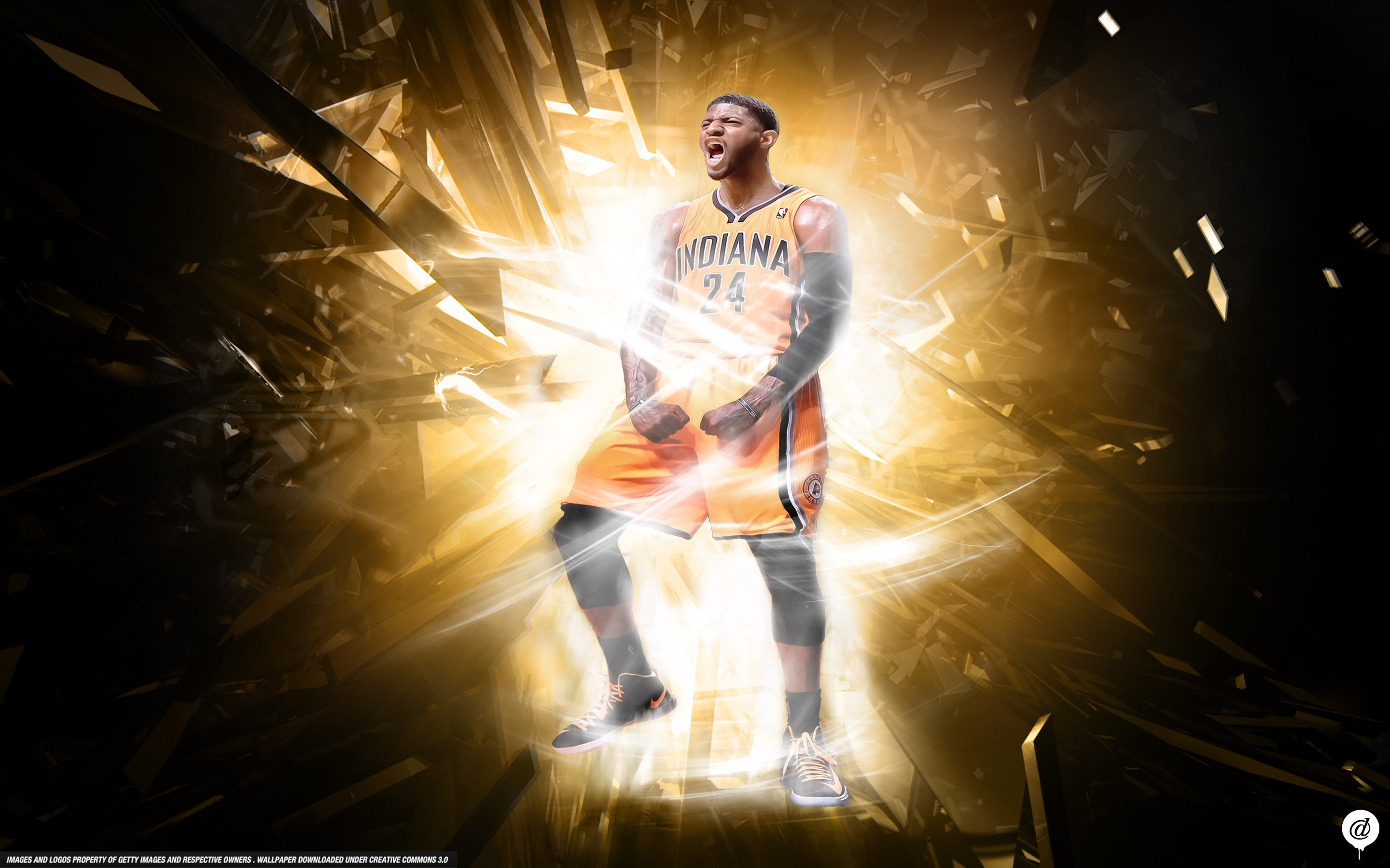 2880x1800 ... Paul George Indiana Pacers Wallpaper by 31ANDONLY