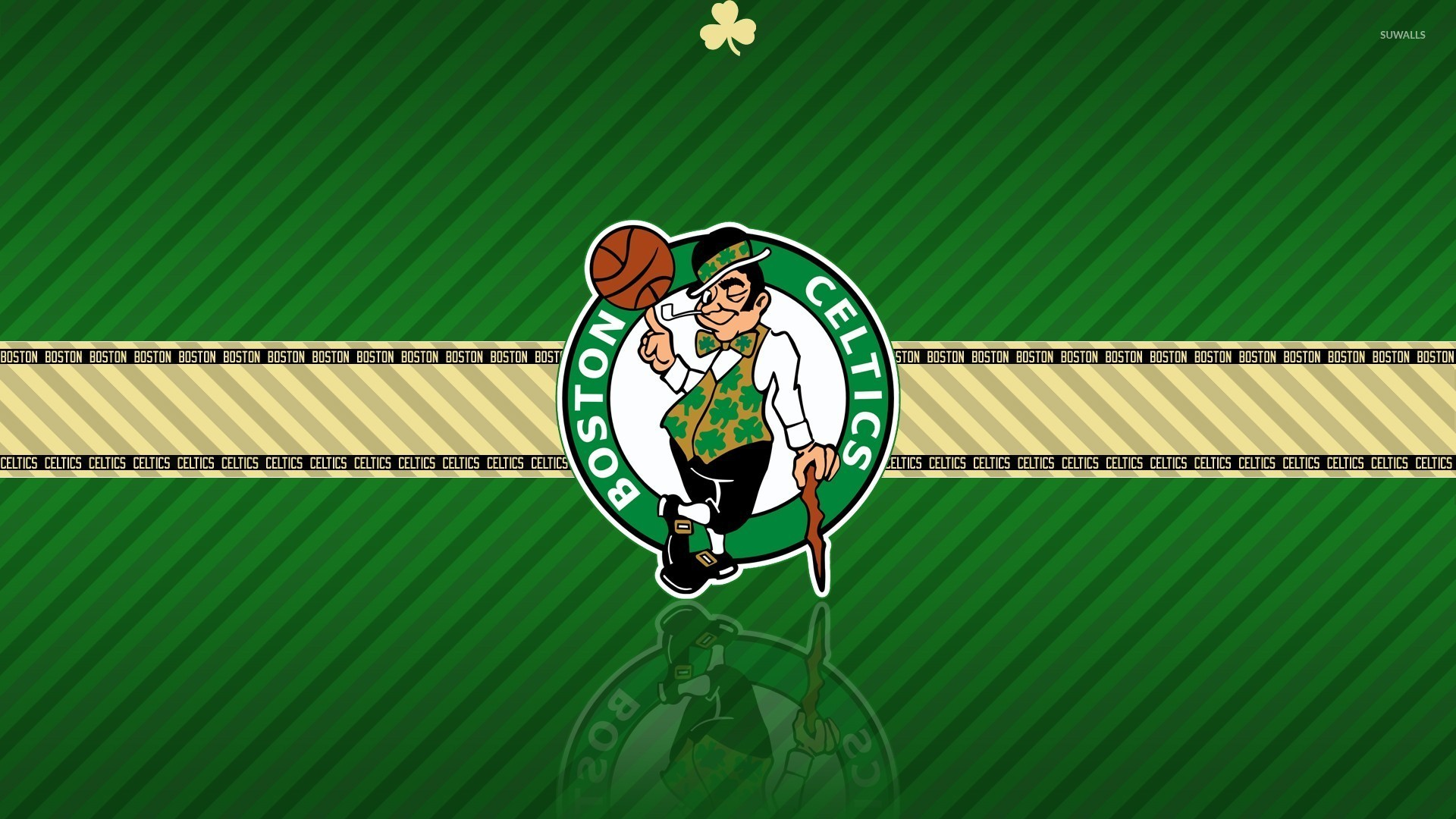 1920x1080 Boston Celtics logo wallpaper