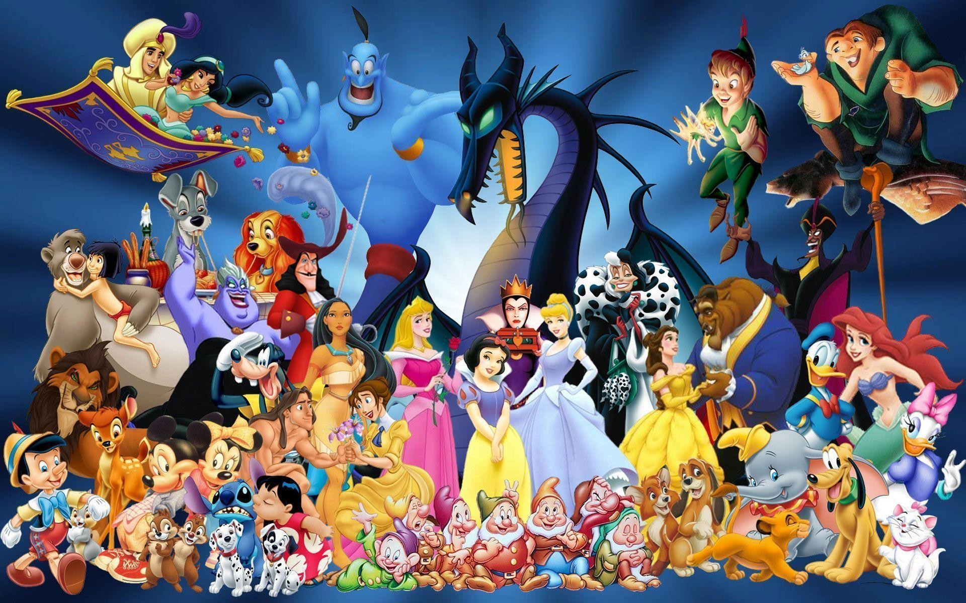 1920x1200 Wallpapers For > Disney Character Christmas Backgrounds