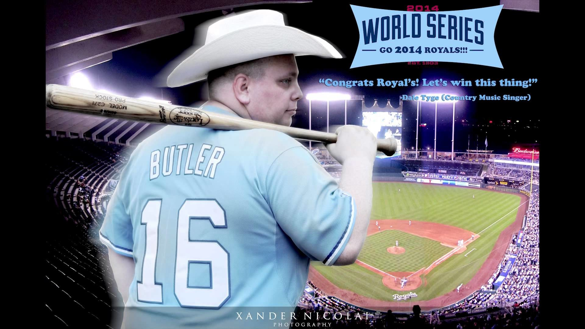 "1920x1080 Dale Tyge ""Baseball Town"" Kansas City Royals World Series Fight Song"