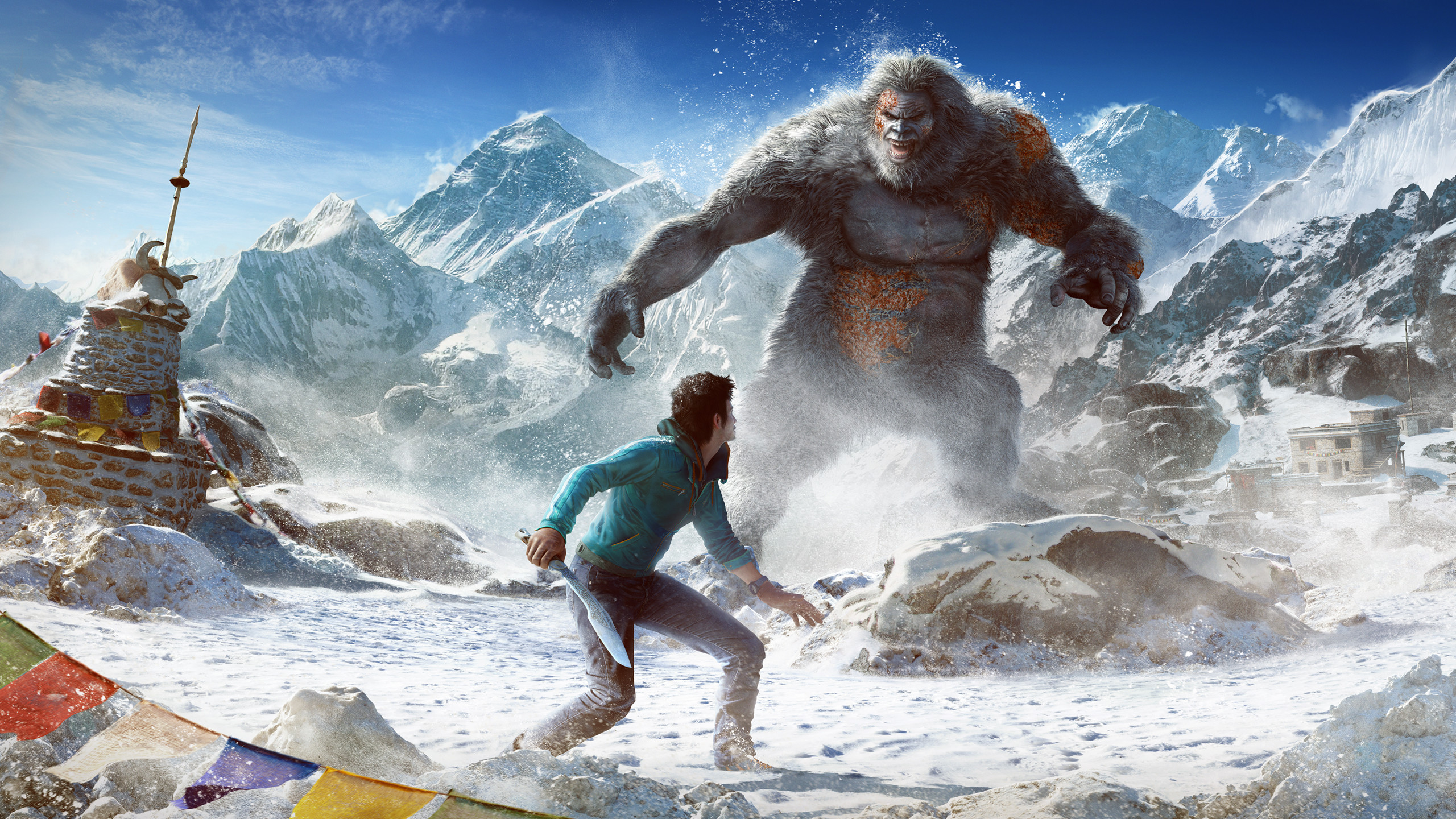 2560x1440 Far Cry 4 Valley of the Yetis