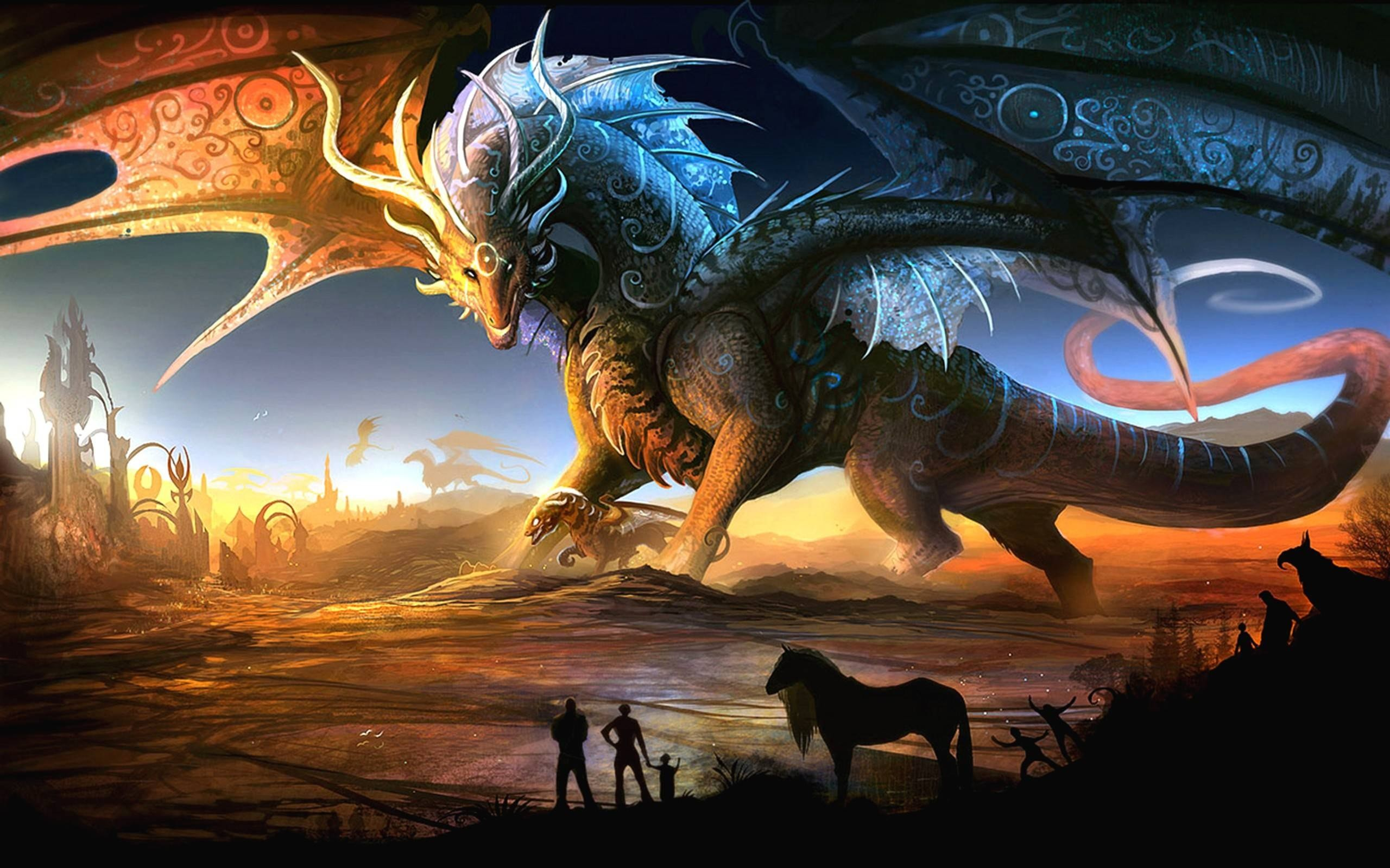 Cool D Dragon Wallpapers