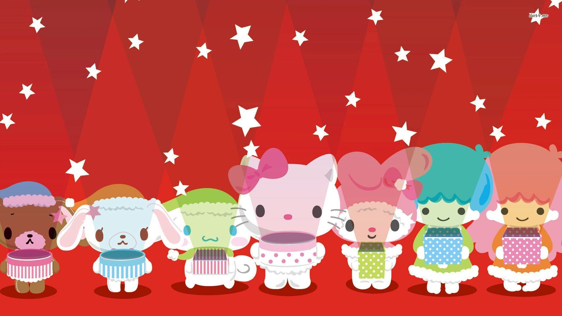 1920x1080 ... Hello Kitty and Friends wallpaper  ...