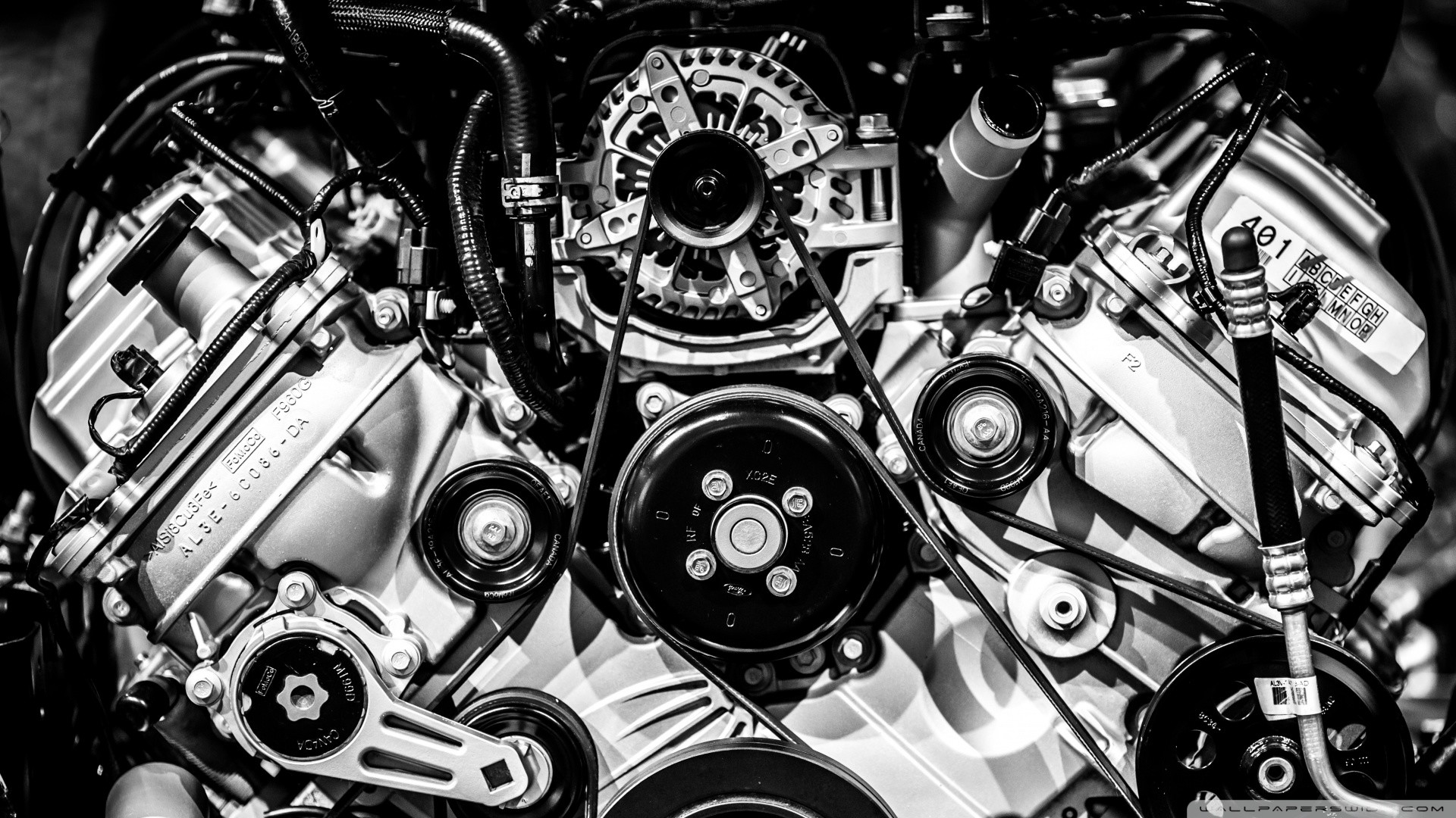 1920x1080 Big Block Engine HD Wide Wallpaper for Widescreen