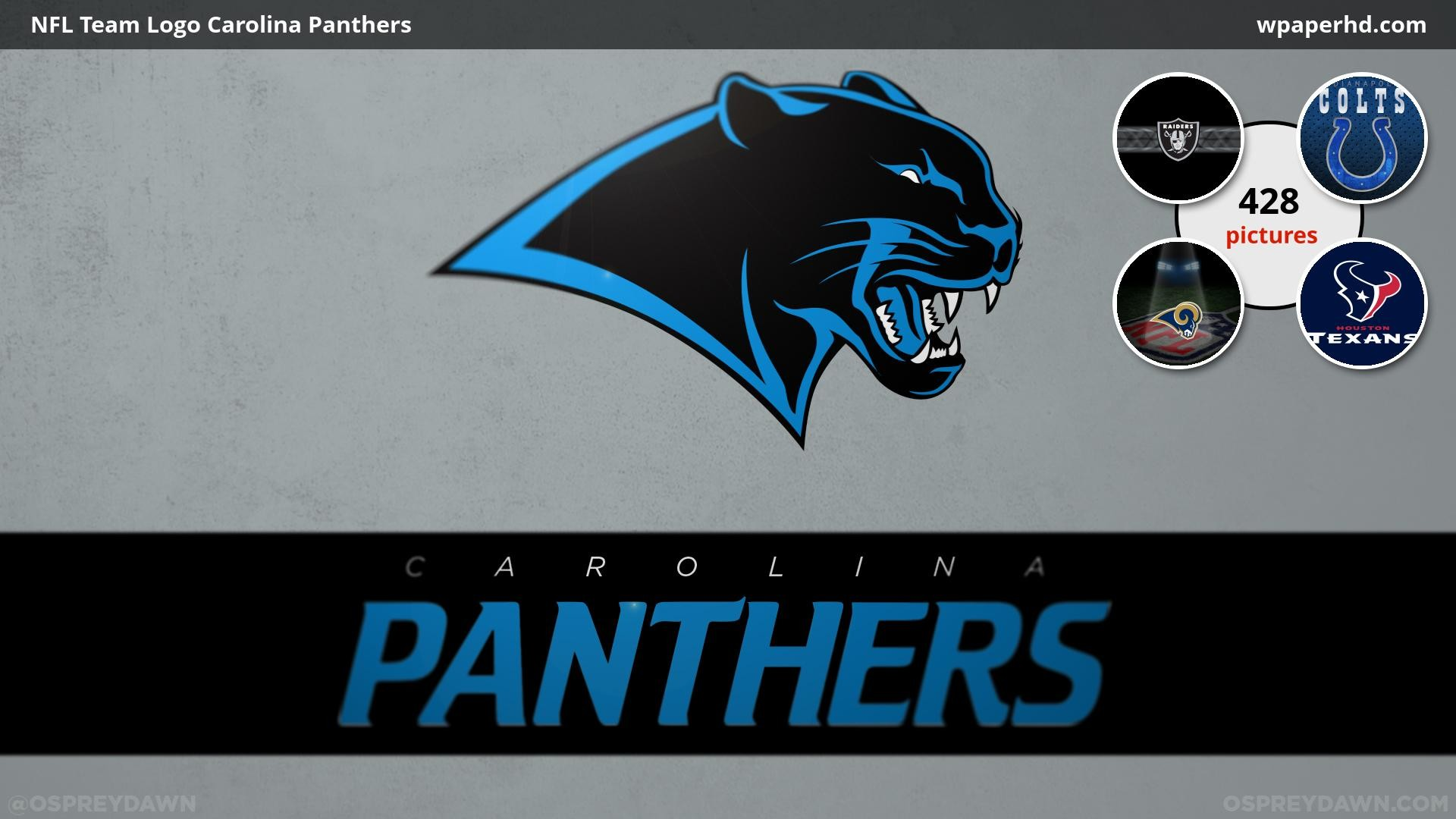 1920x1080 You are on page with NFL Team Logo Carolina Panthers wallpaper, where you  can download this picture in Original size and ...