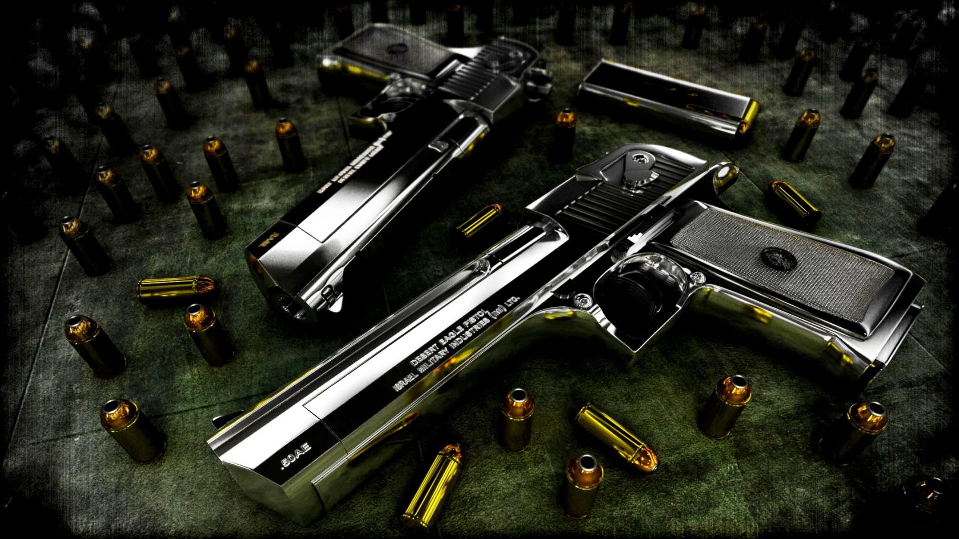 1920x1080 Beautiful Guns Wallpaper