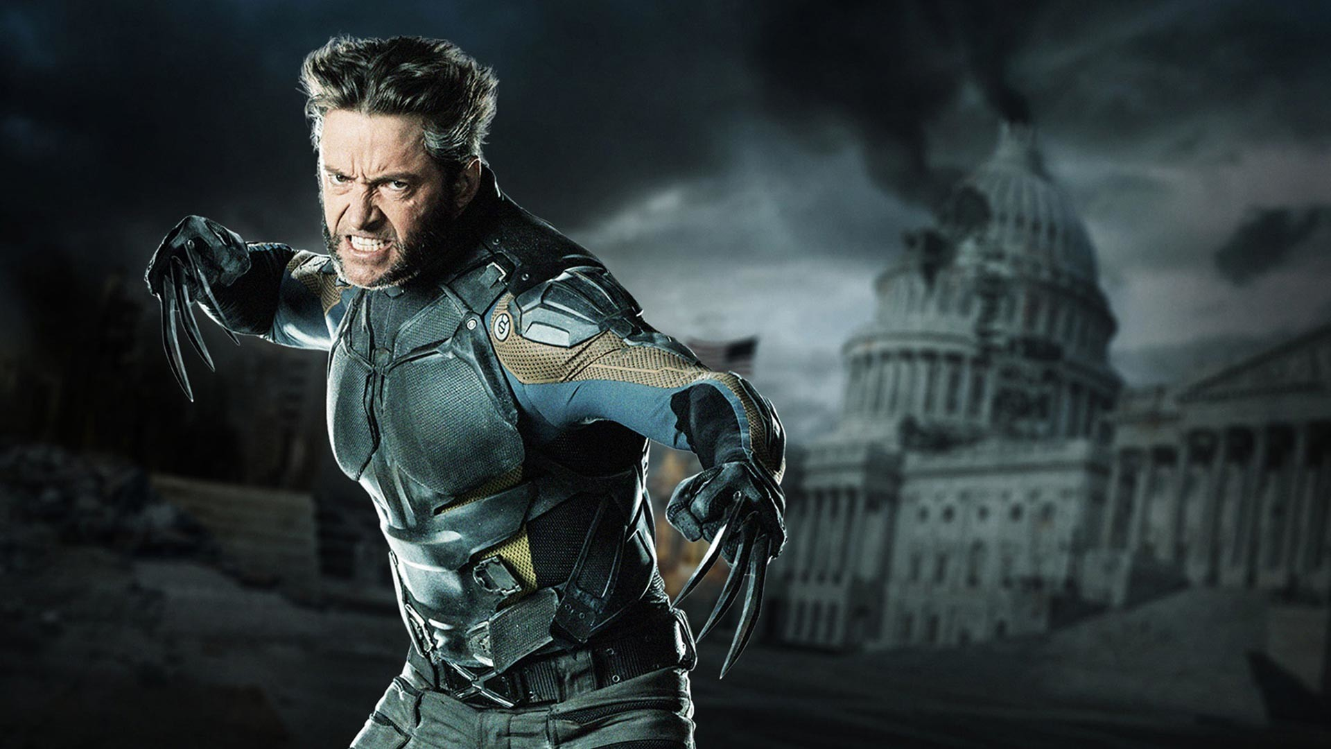 1920x1080 Wolverine X men days of Future Past wallpaper HD