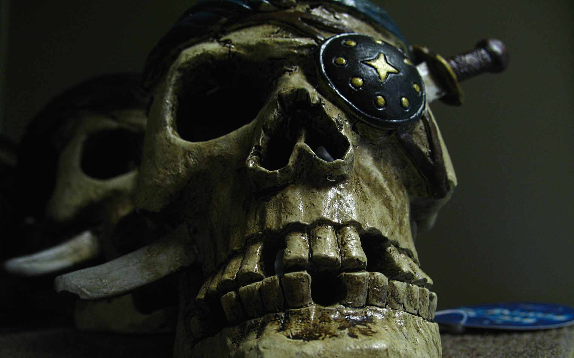 1920x1200 Pirate skull HD and Wide Wallpapers