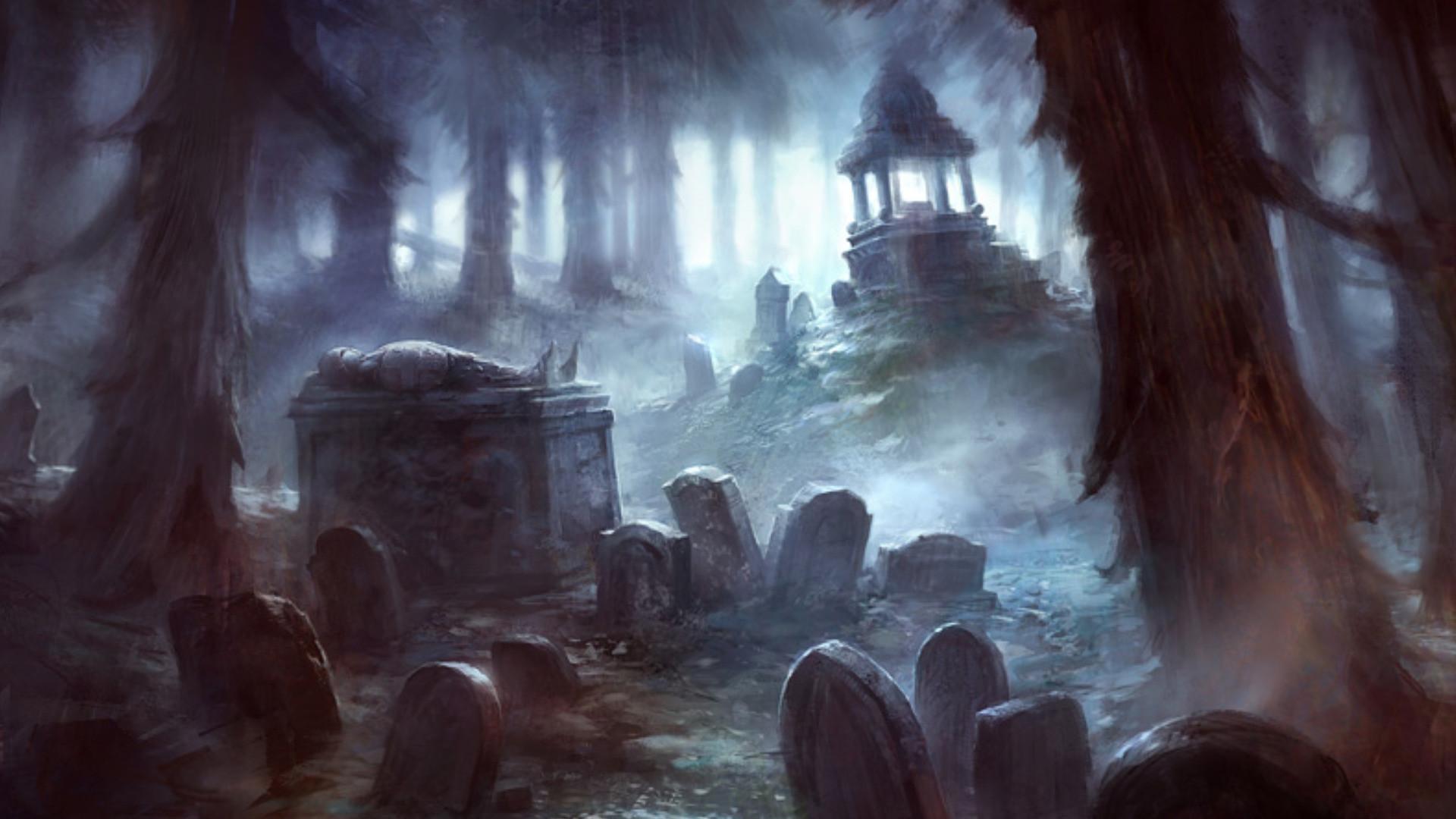 Creepy Graveyard Wallpaper (64+ Images