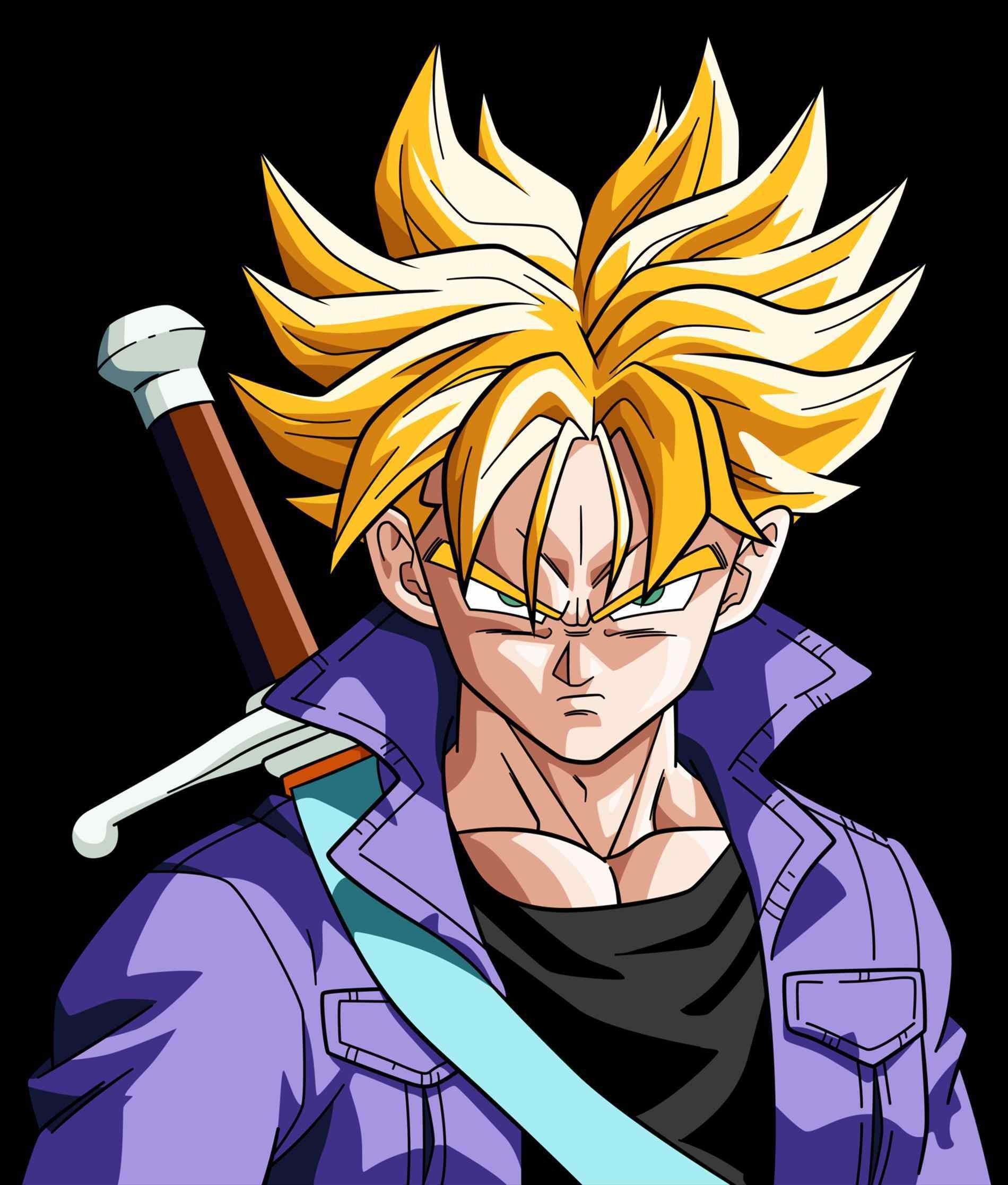 Dbz Trunks Wallpaper 72 Images