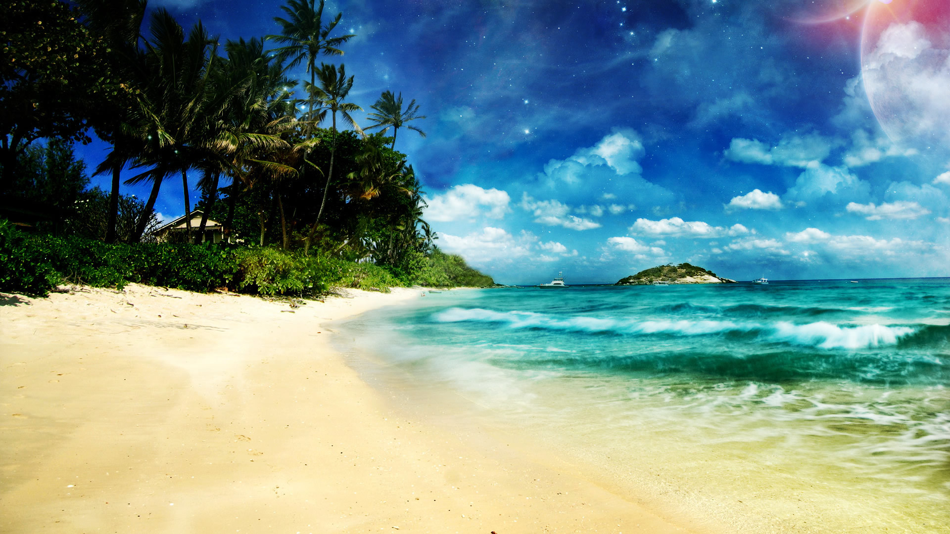 Summer Beach Wallpaper For Desktop 55 Images
