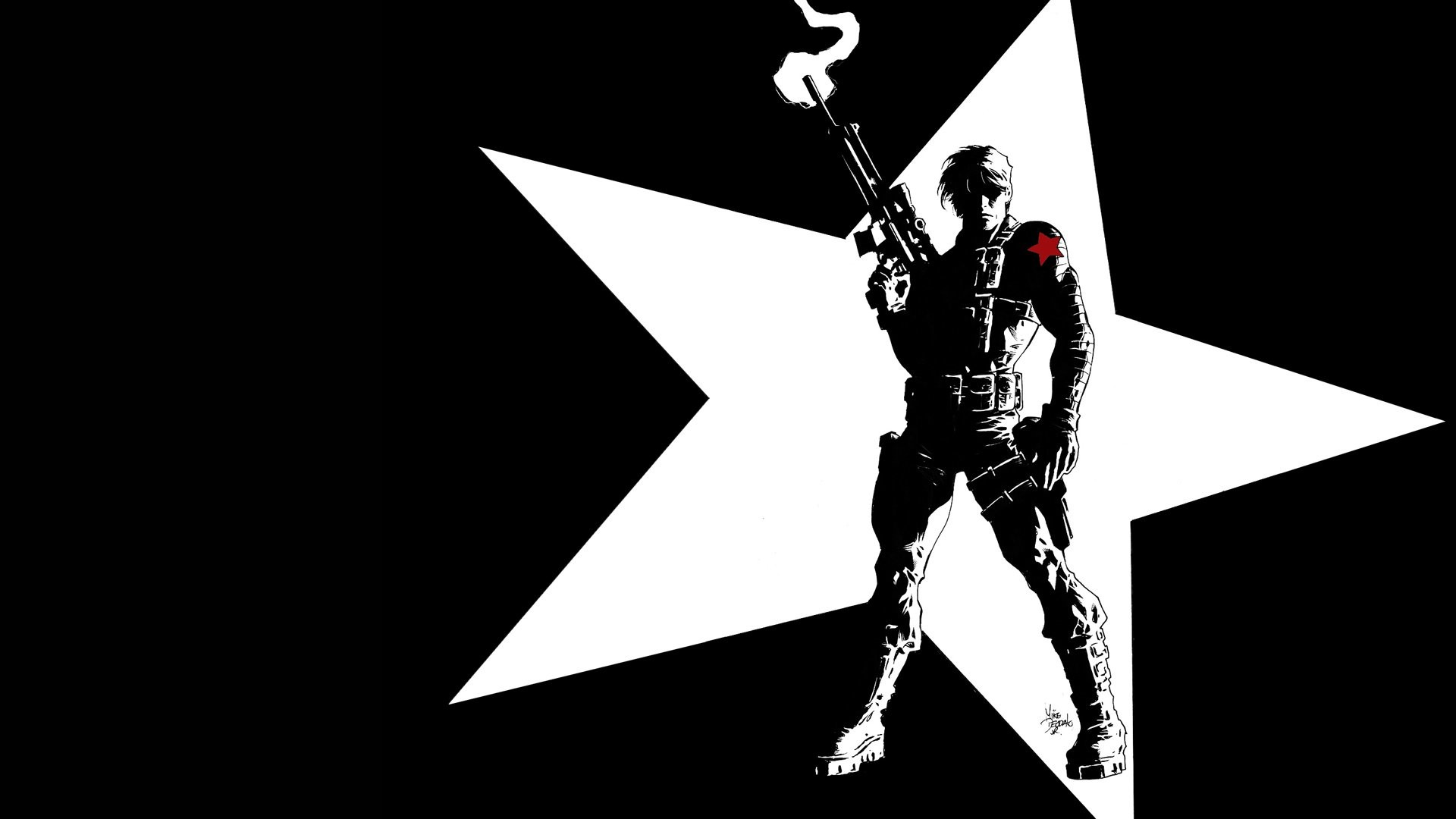 1920x1080 HD Wallpaper | Background ID:372963.  Comics Winter Soldier