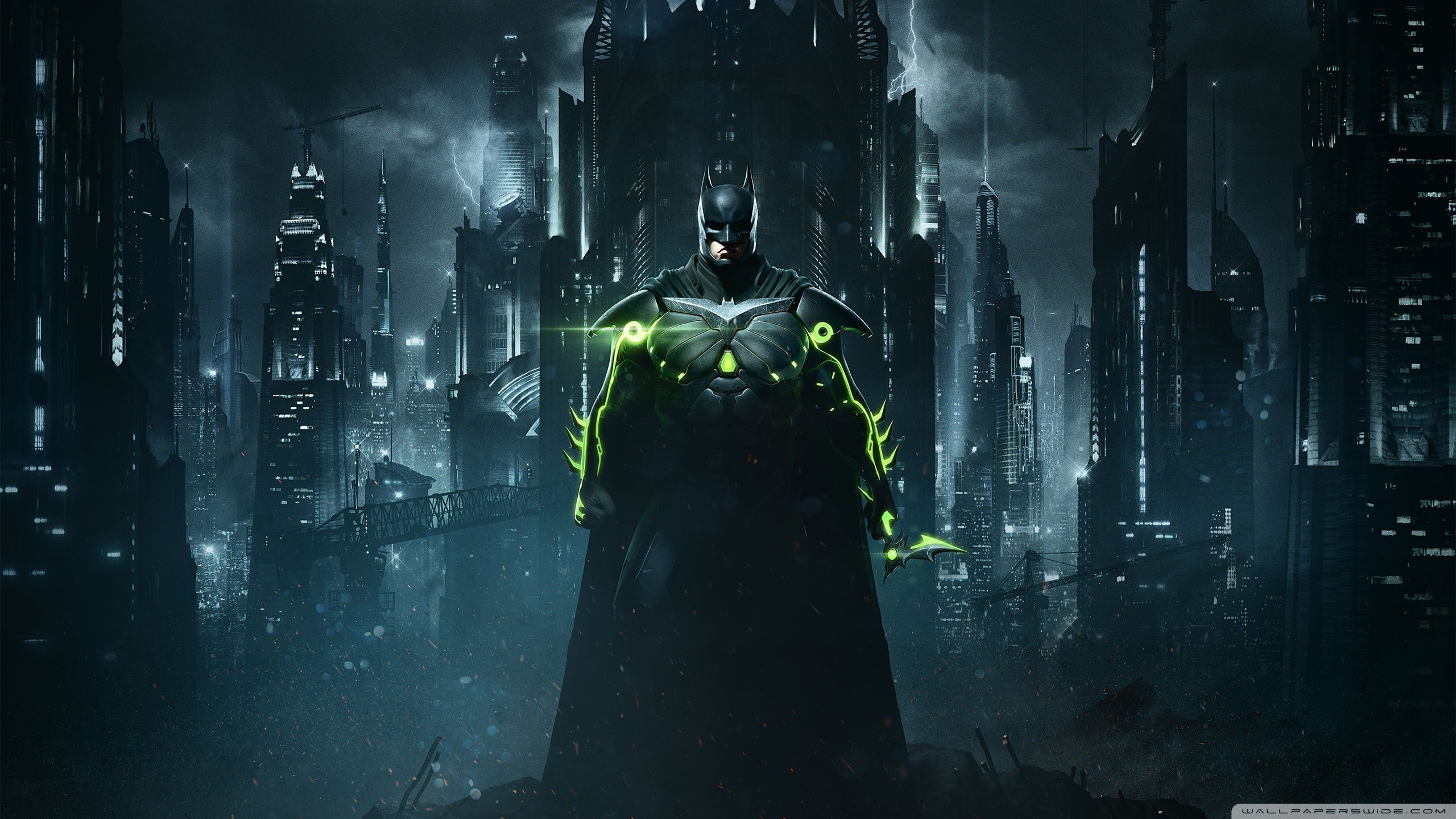 2560x1440 Injustice 2 Batman HD Wide Wallpaper for Widescreen