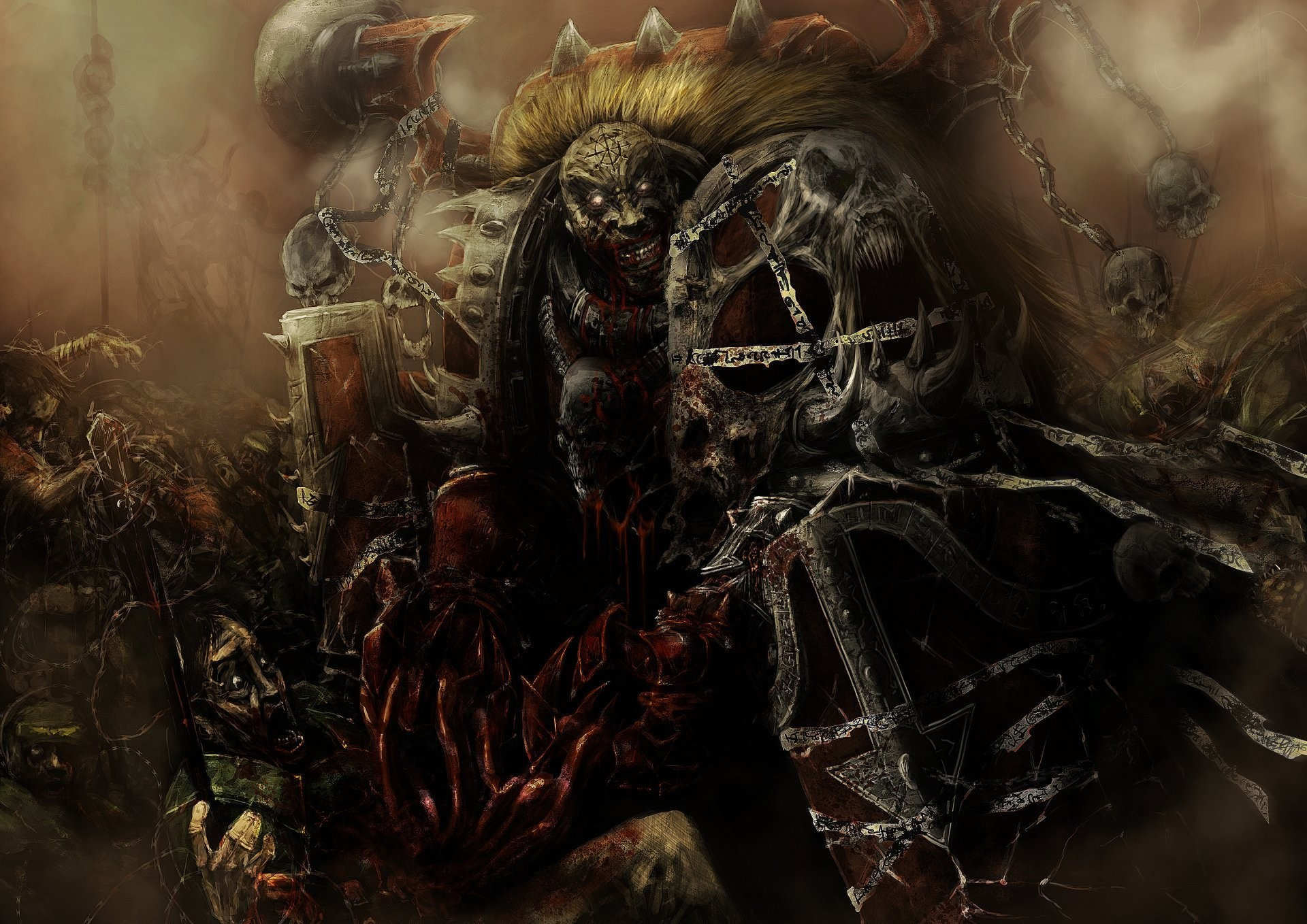 1920x1358 warhammer 40k chaosmarine word bearers varhamer chaos bearing the word  armour blood madness skull imperial guard