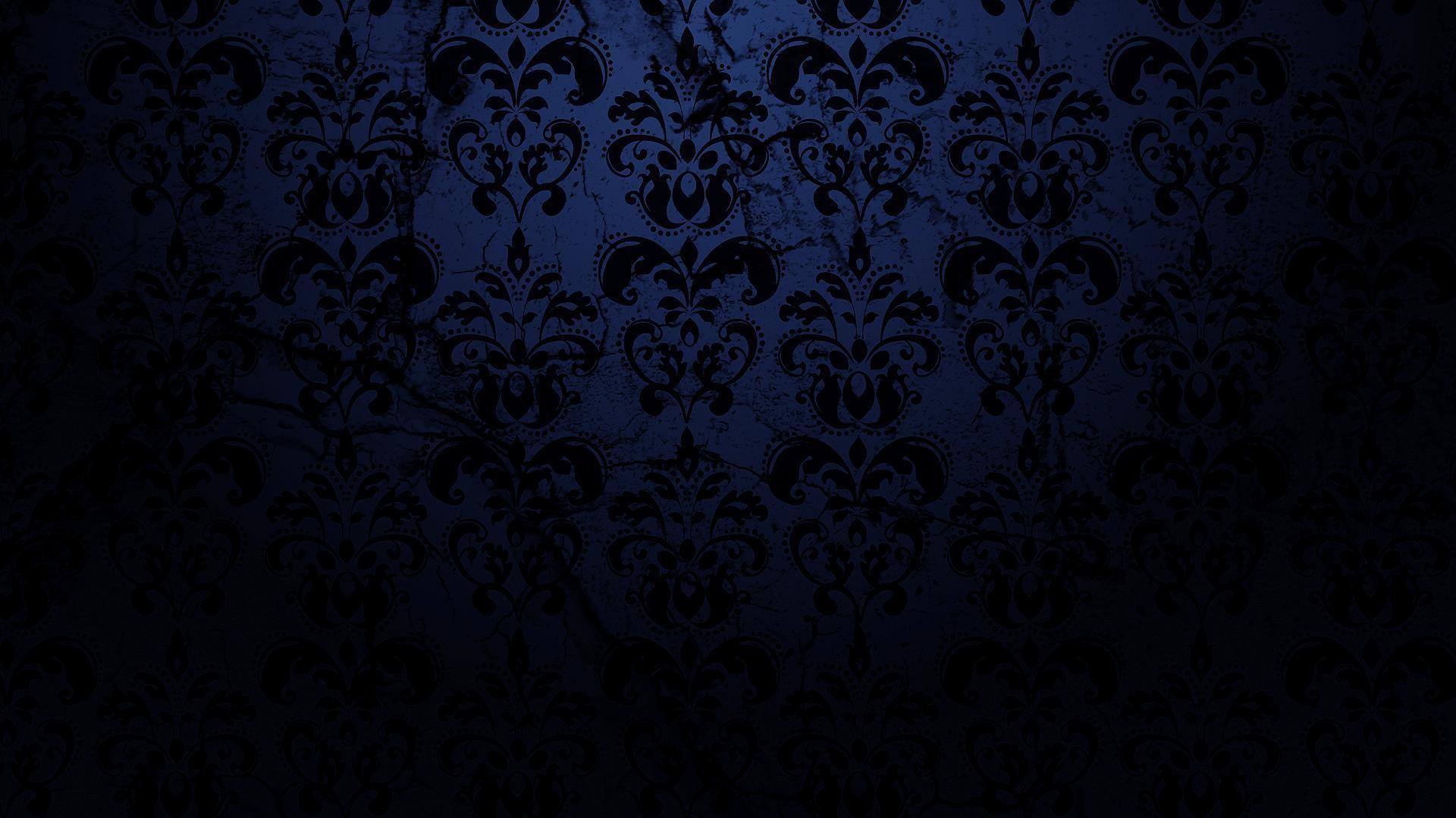 Dark blue pattern background tumblr