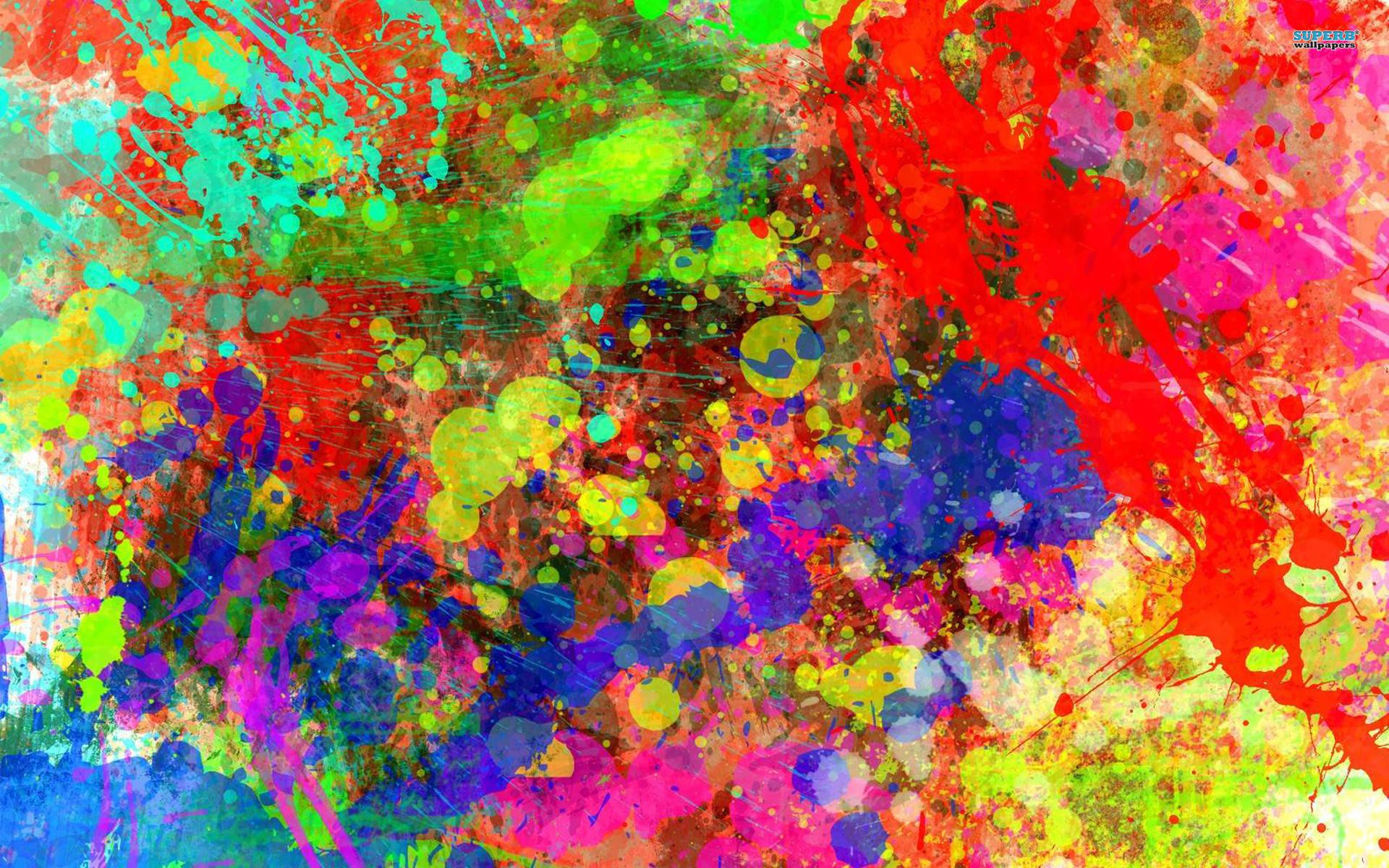 1920x1200 Paint Splatter Wallpaper