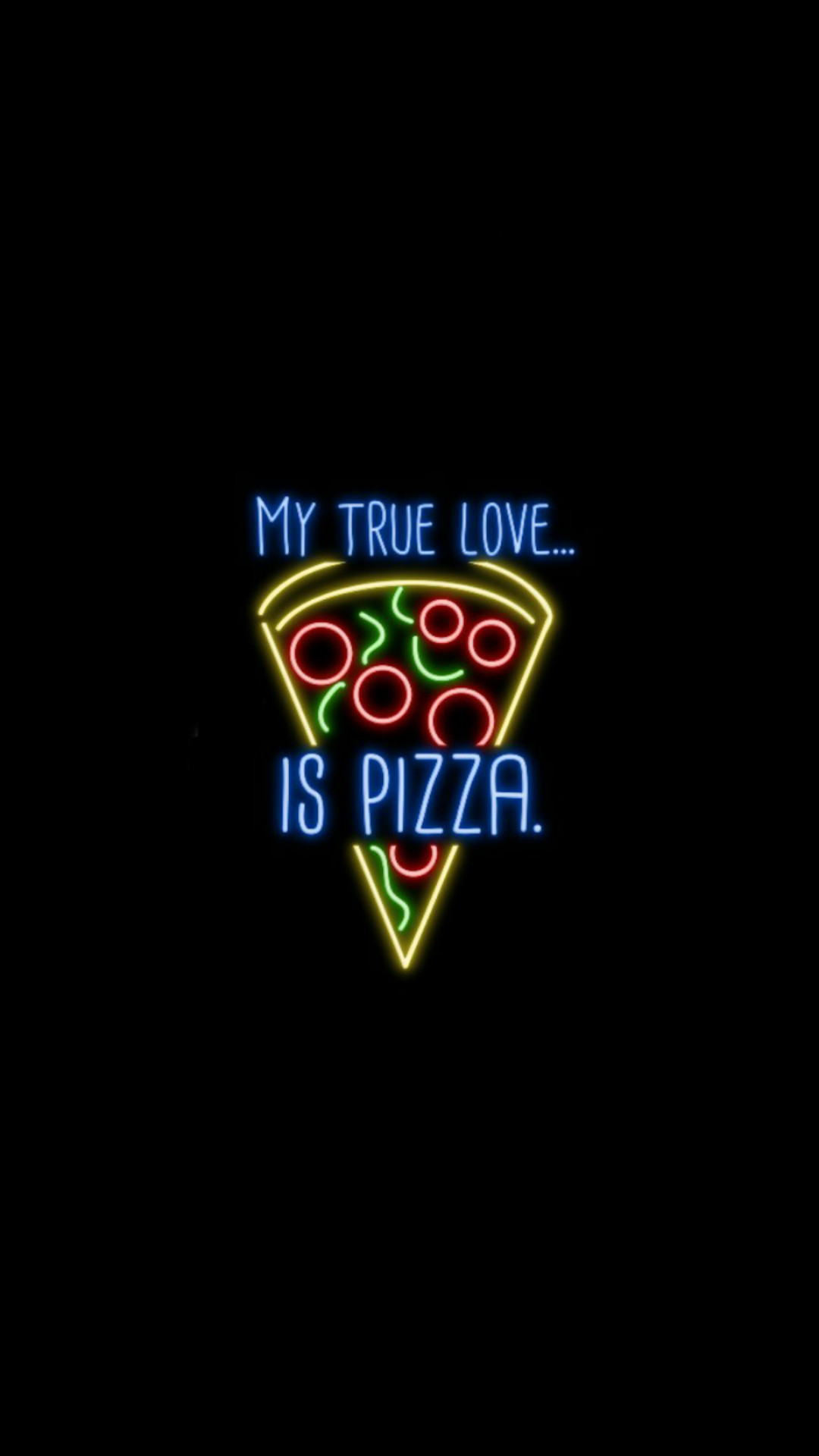 1080x1920 pizza wallpaper