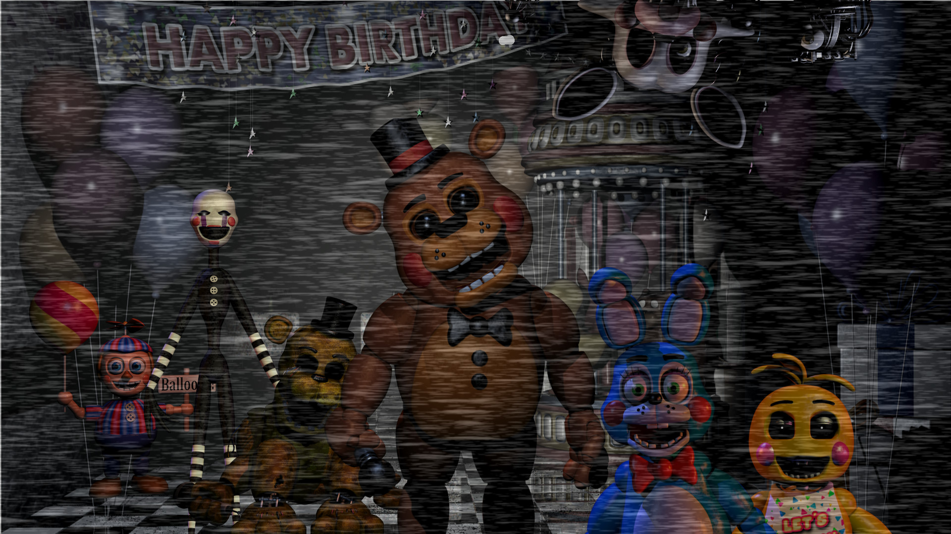 1920x1080 Five Nights at Freddy's 2 Wallpaper