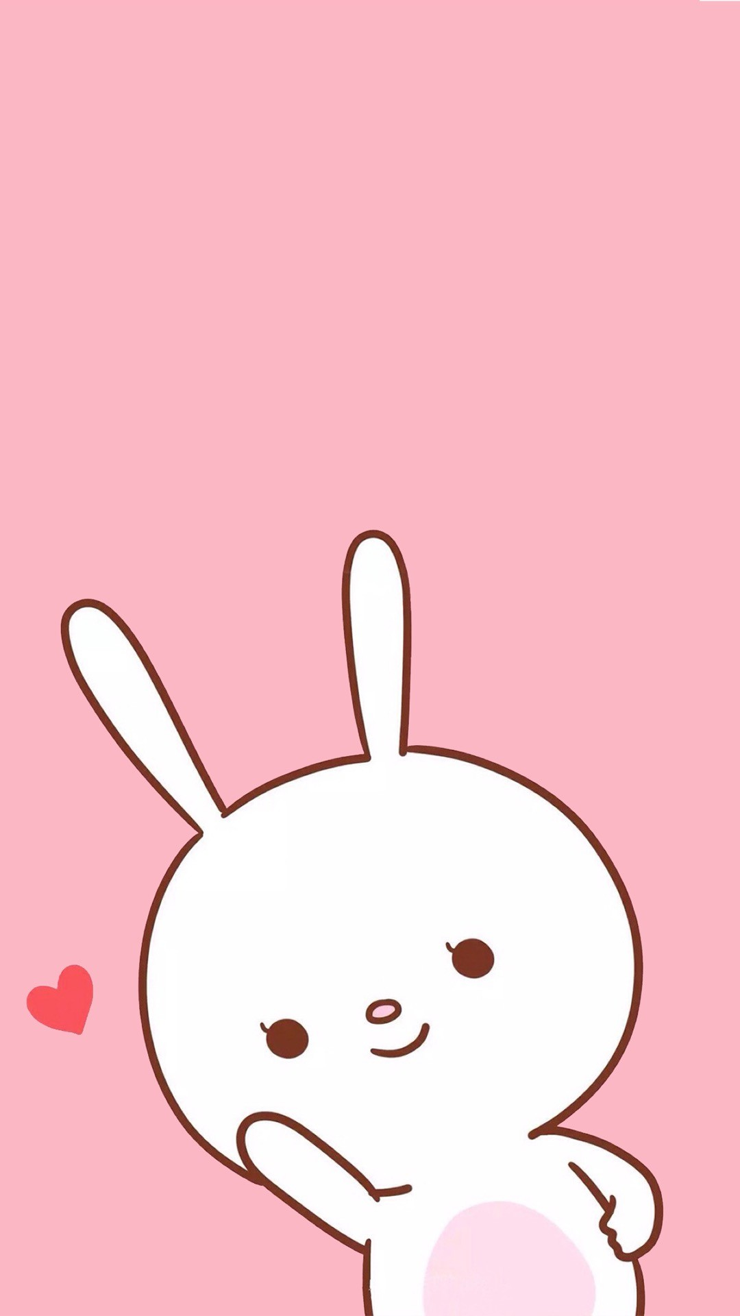 cute wallpapers iphone kawaii bunny cartoon emoji pink fondos rabbit pantalla hupages backgrounds emojis pastel phone marshmallow wallpaperaccess novios animals