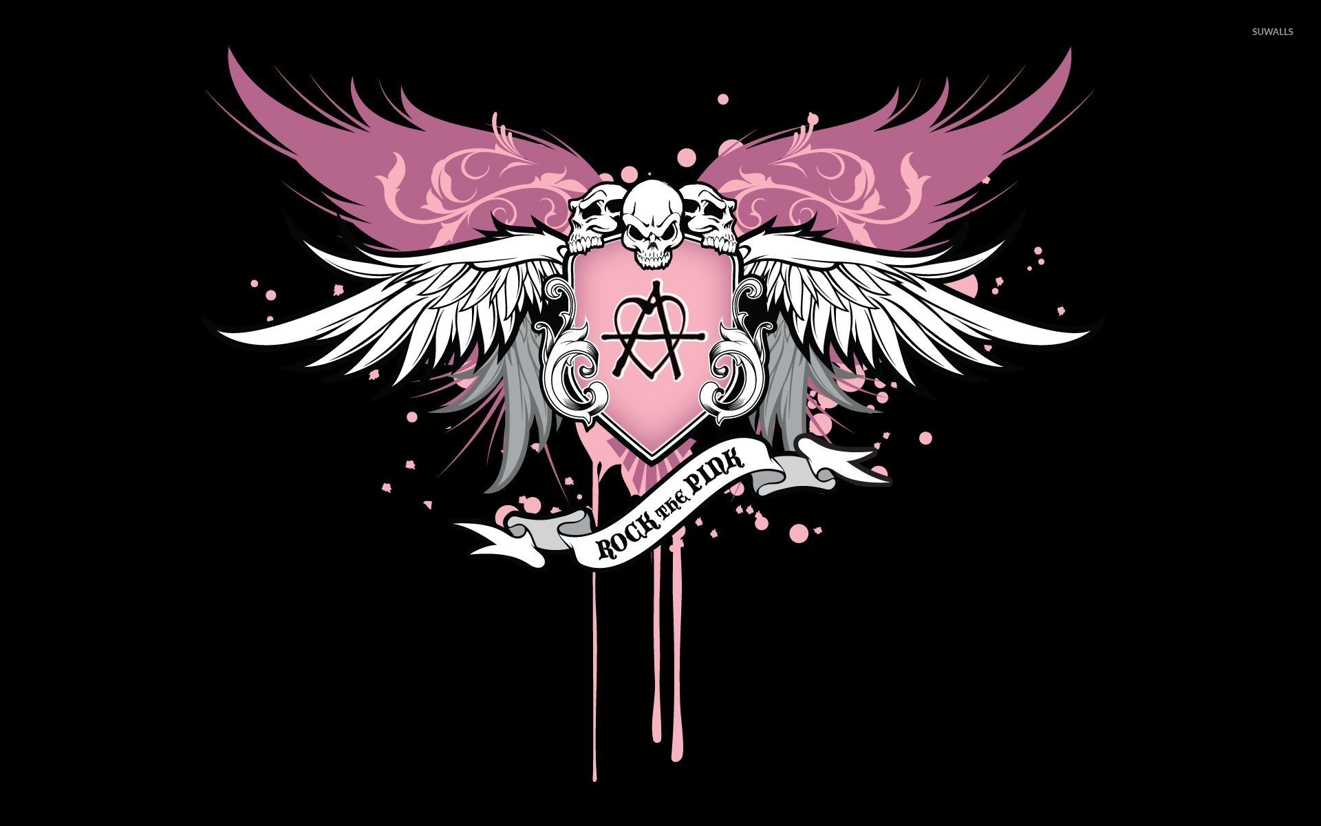 Pink Music Wallpaper