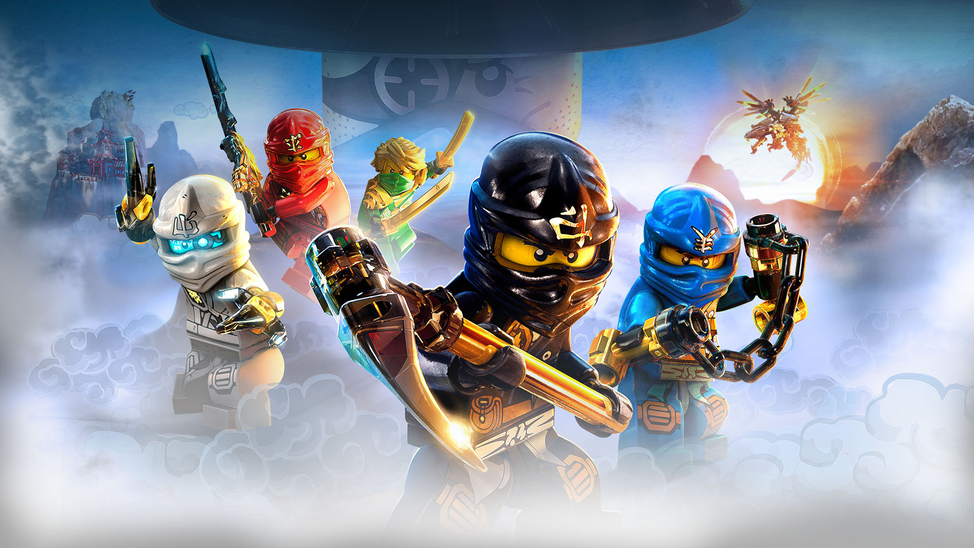 Ninjago wallpapers 73 images 1920x1080 the lego ninjago movie 2017 wallpapers voltagebd Image collections