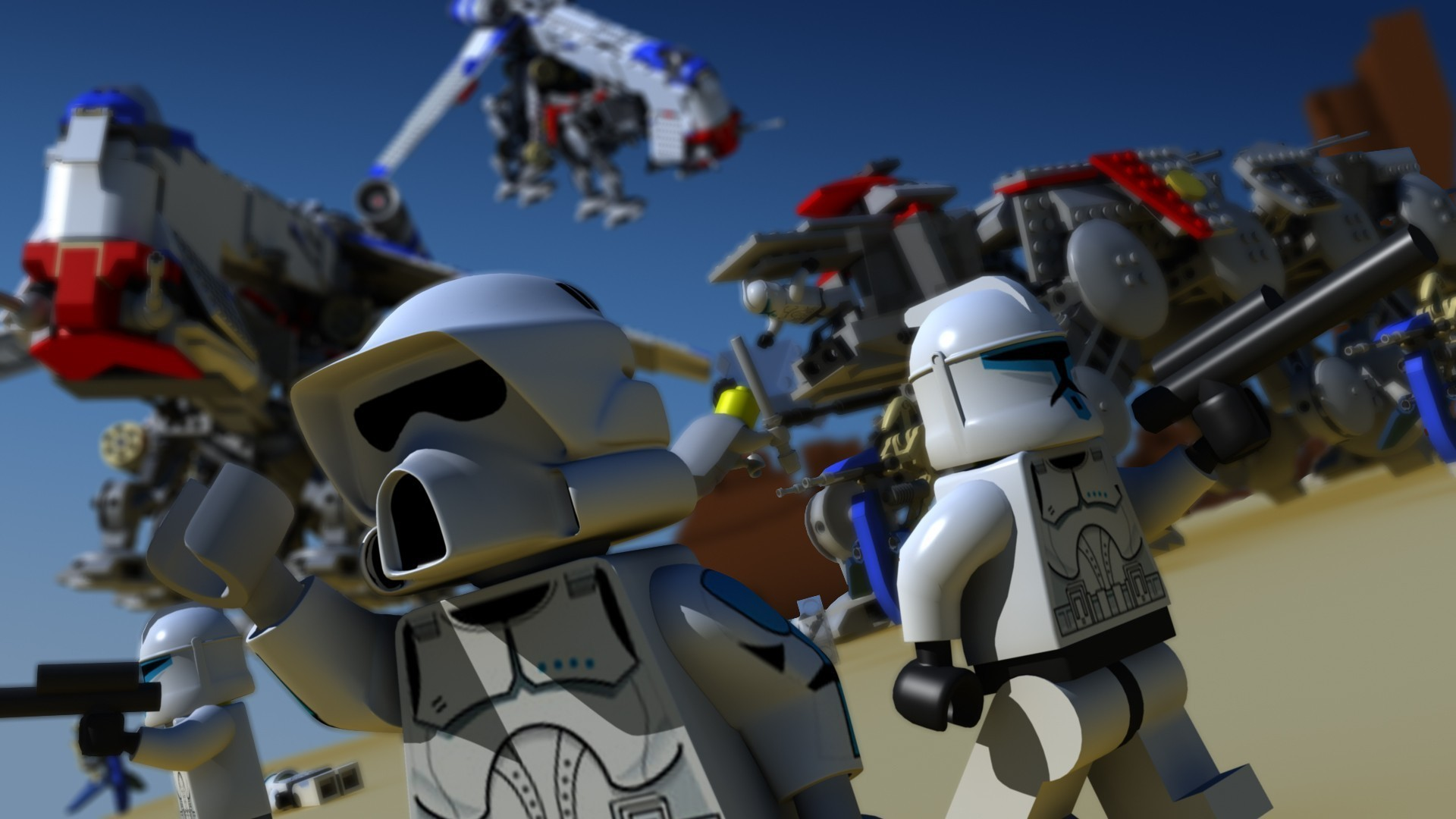 Lego star wars wallpaper 69 images - Lego star warse ...