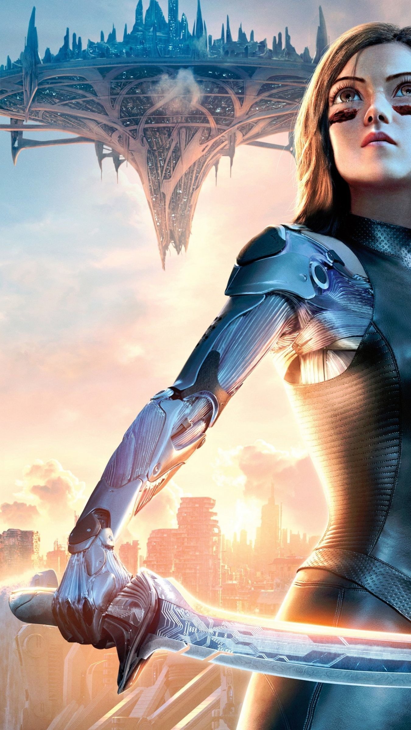 1350x2400 Alita: Battle Angel Funny Alita: Battle Angel iPhone wallpapers