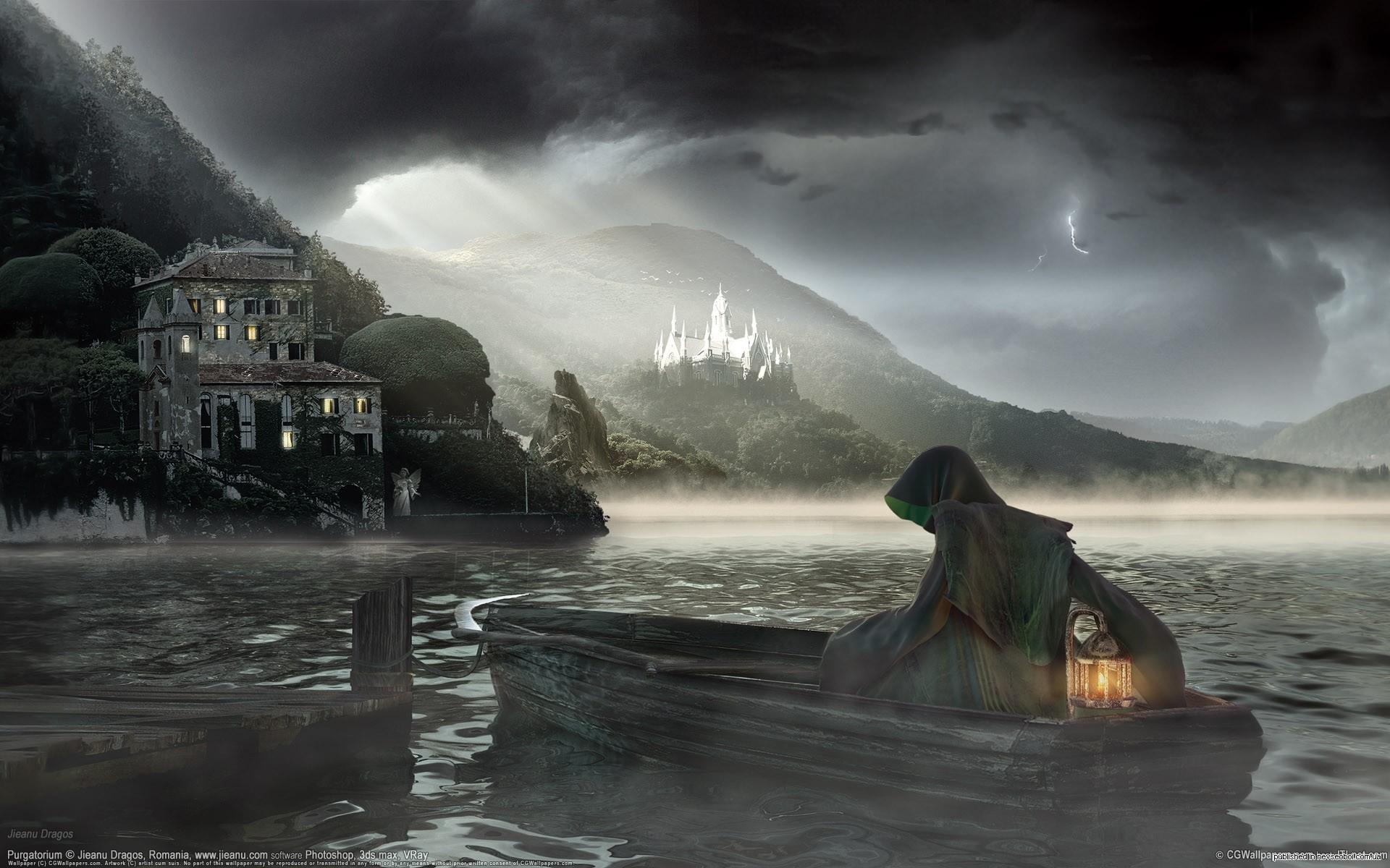 Image Detail For Dark Mysterious Hd Fantasy: Dark Fantasy Wallpaper HD (69+ Images