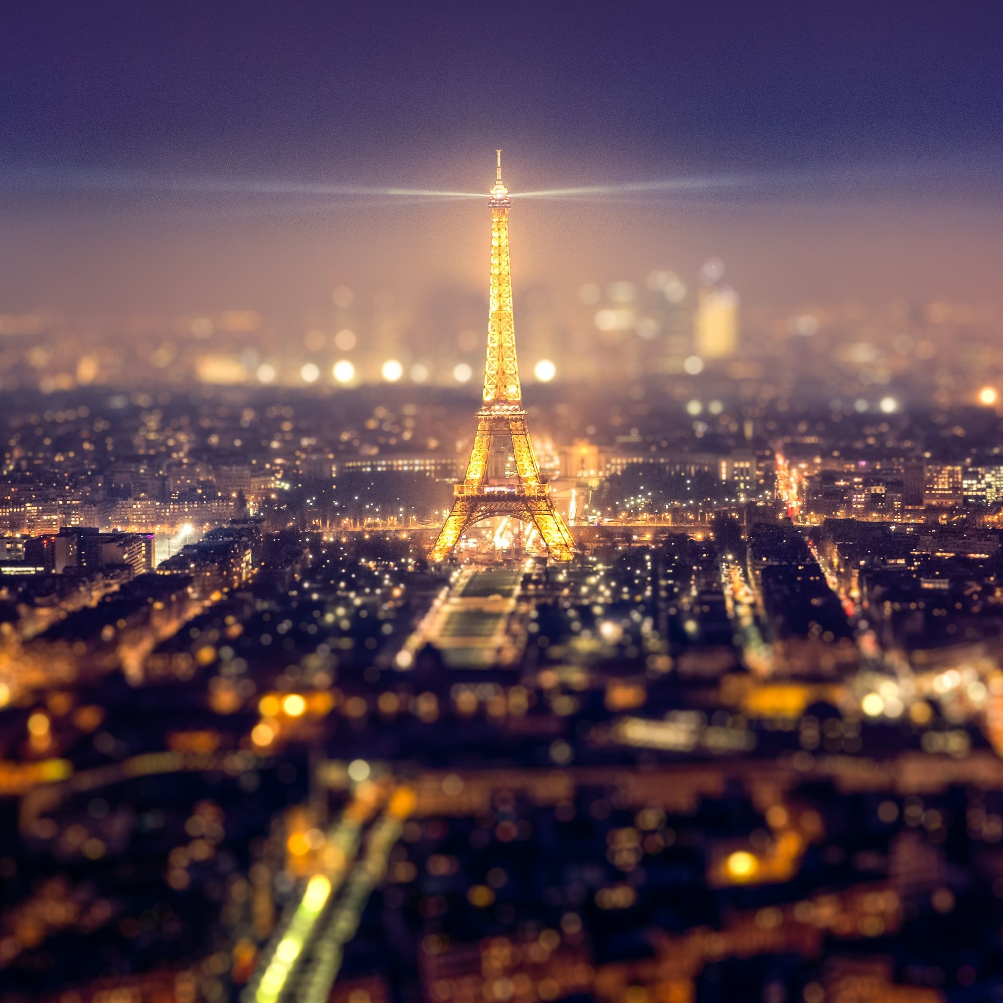 Eiffel Tower At Night Wallpaper (62+ Images