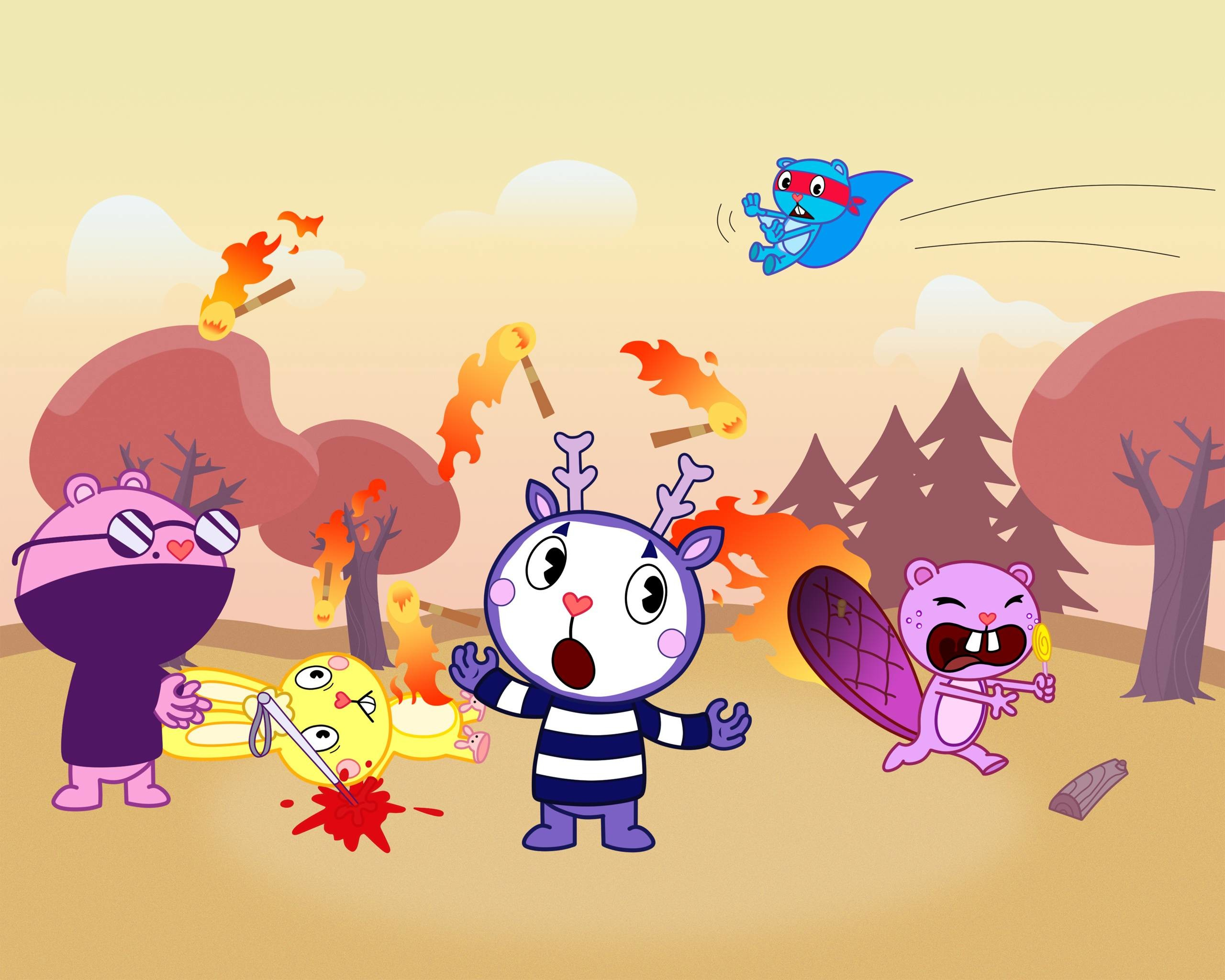 2560x2048 wallpapers de...... HAPPY TREE FRIENDS!. (HD)