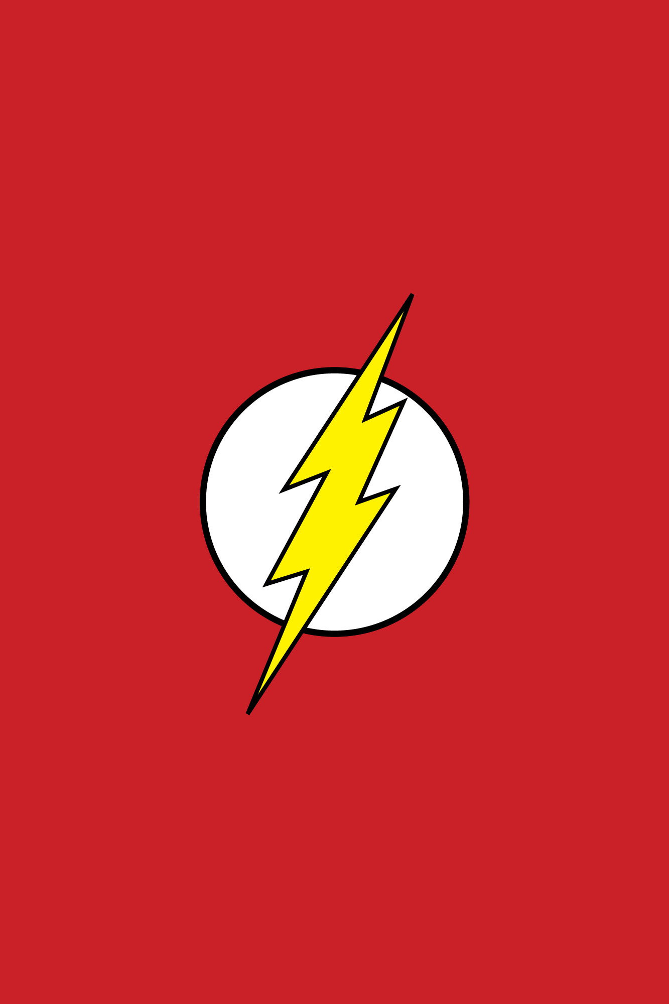 Wallpaper Weekends The Flash For Your IPhone 6 Plus