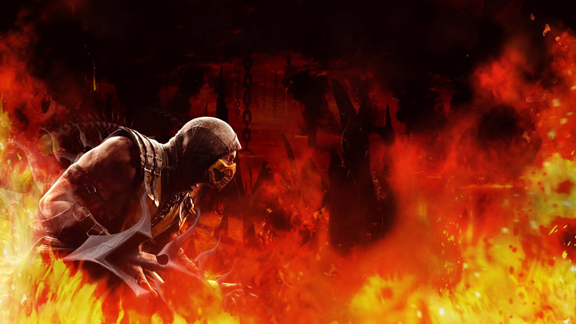 Mortal Kombat Scorpion Wallpaper (68+ Images