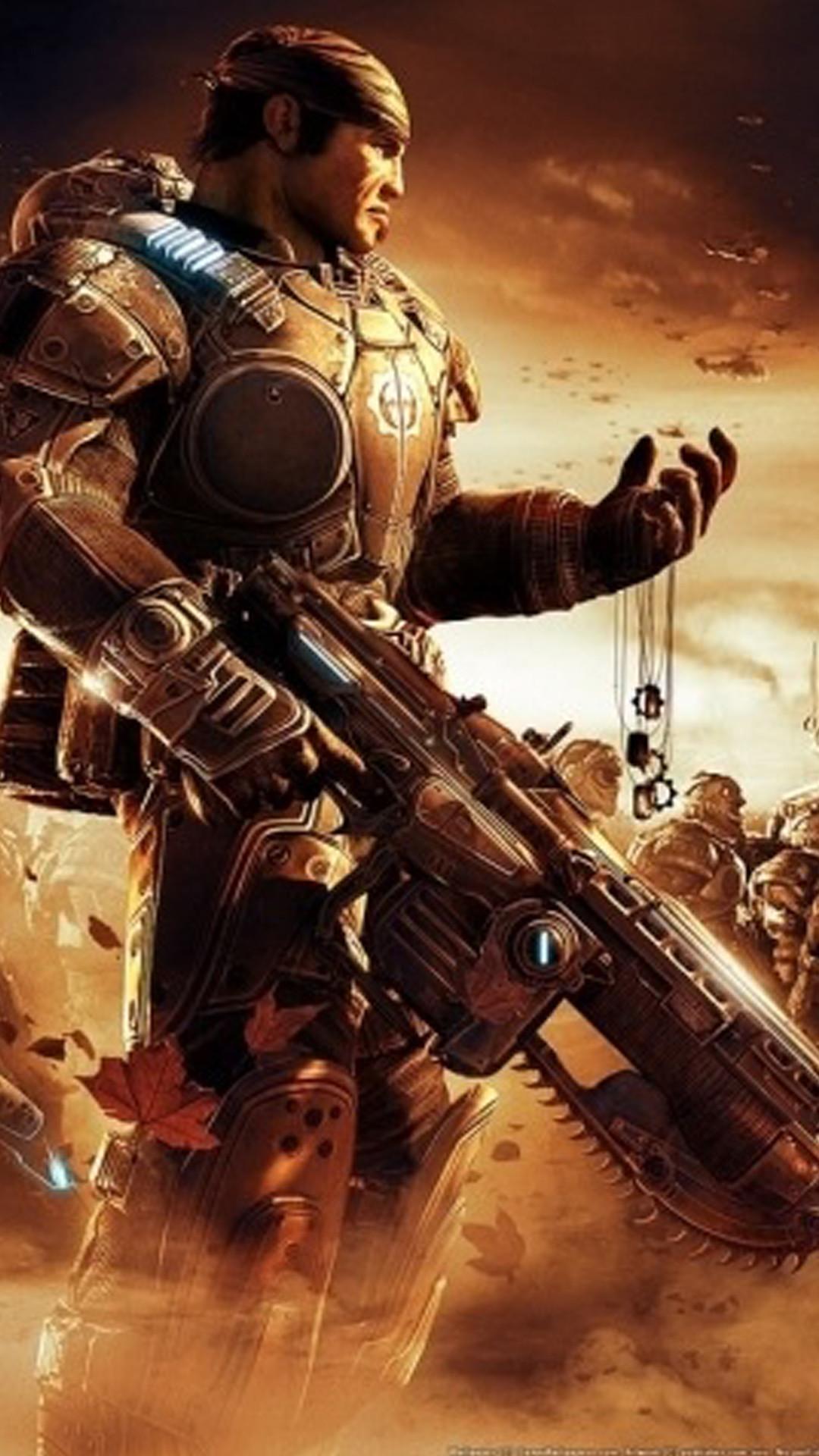 Gears of War iPhone Wallpaper (70+ images)
